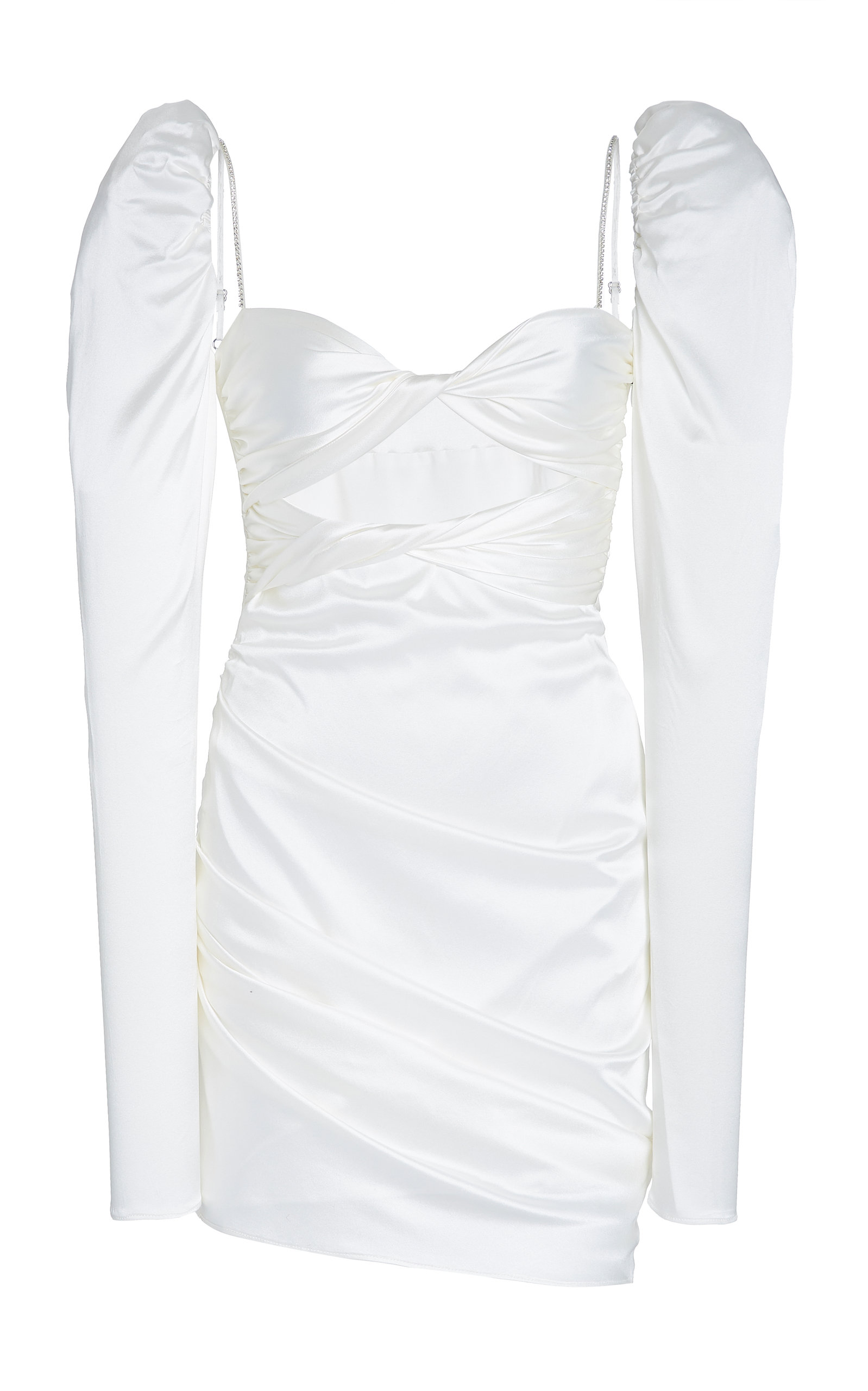 Pmd Dresses LONG SLEEVE TWIST TOP DRESS