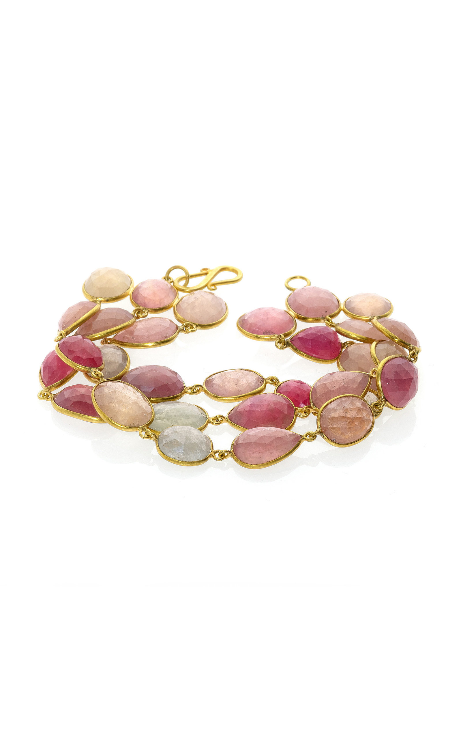 Women's Sapphire 18K Yellow Gold Bracelet