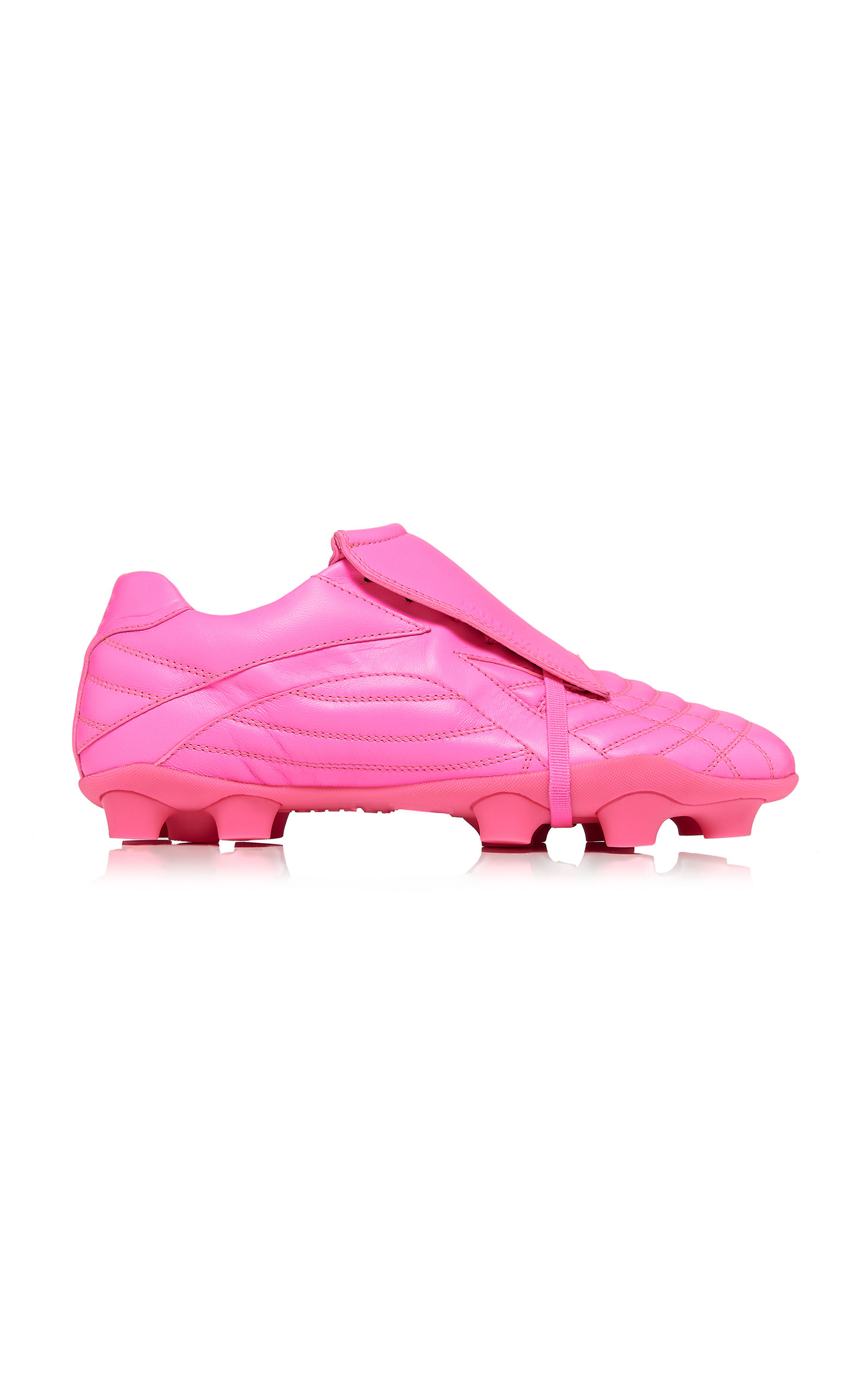 Balenciaga Leathers SOCCER CLEAT LEATHER SNEAKERS