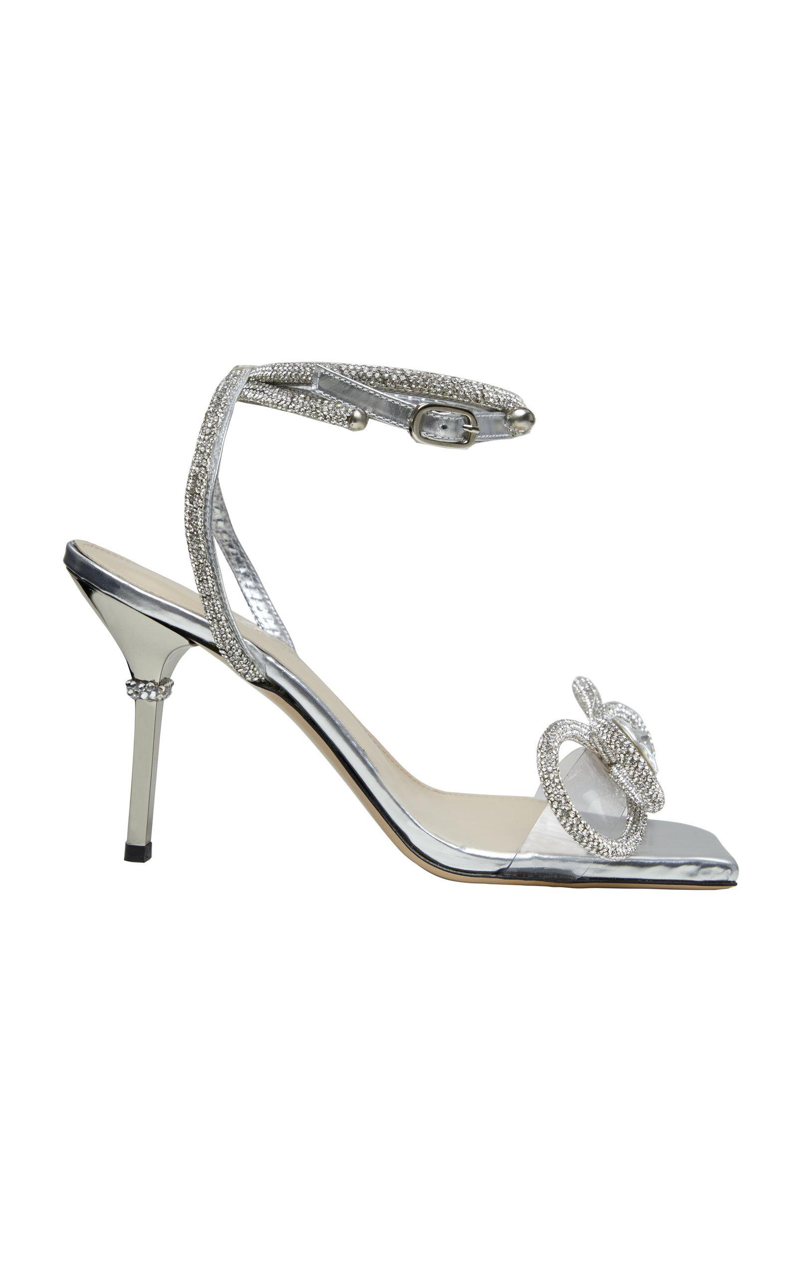 Women's Crystal Bow-Embellished Sandals