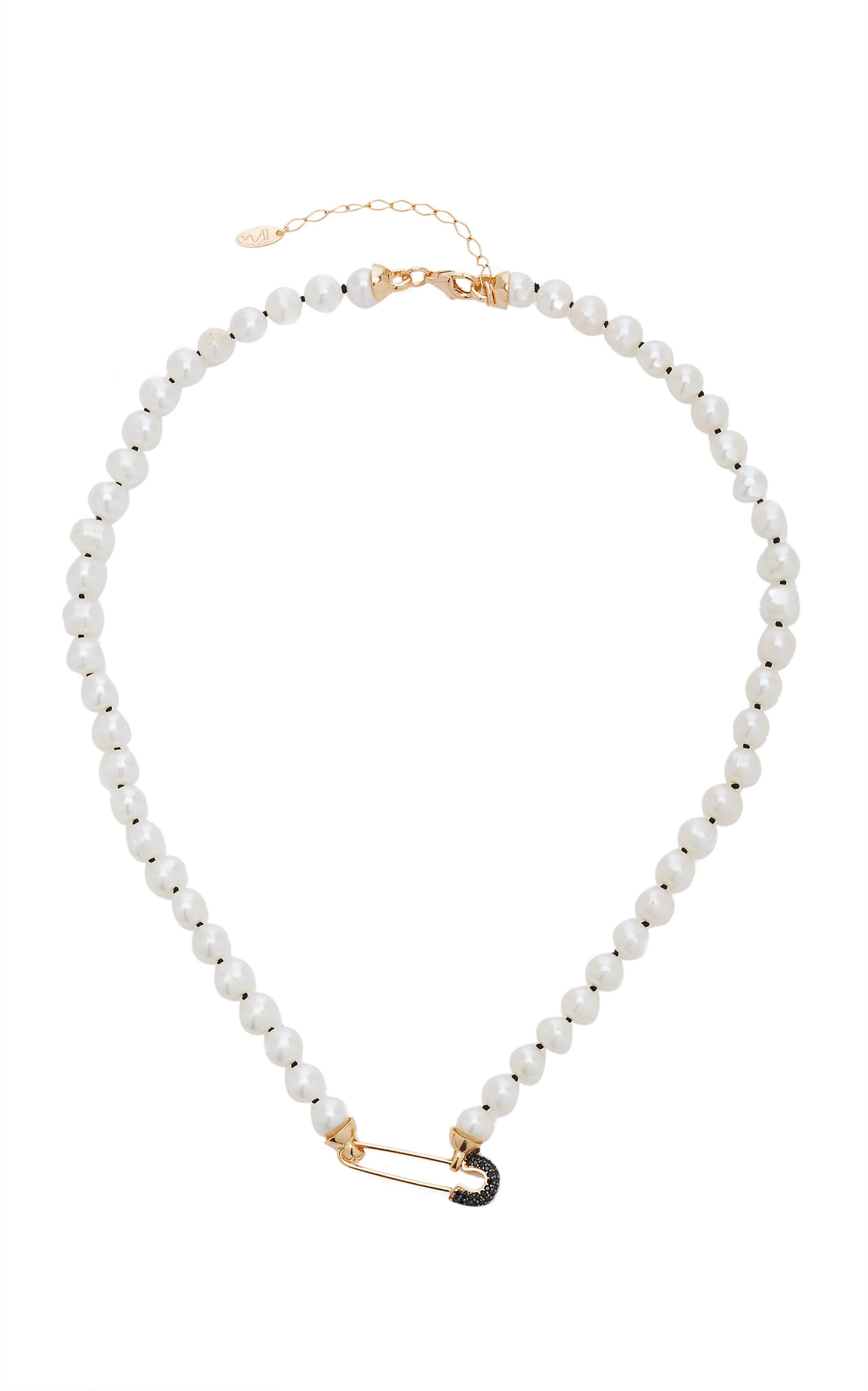 Women's Goldy Jazz Pearl 18K Gold-Plated Necklace