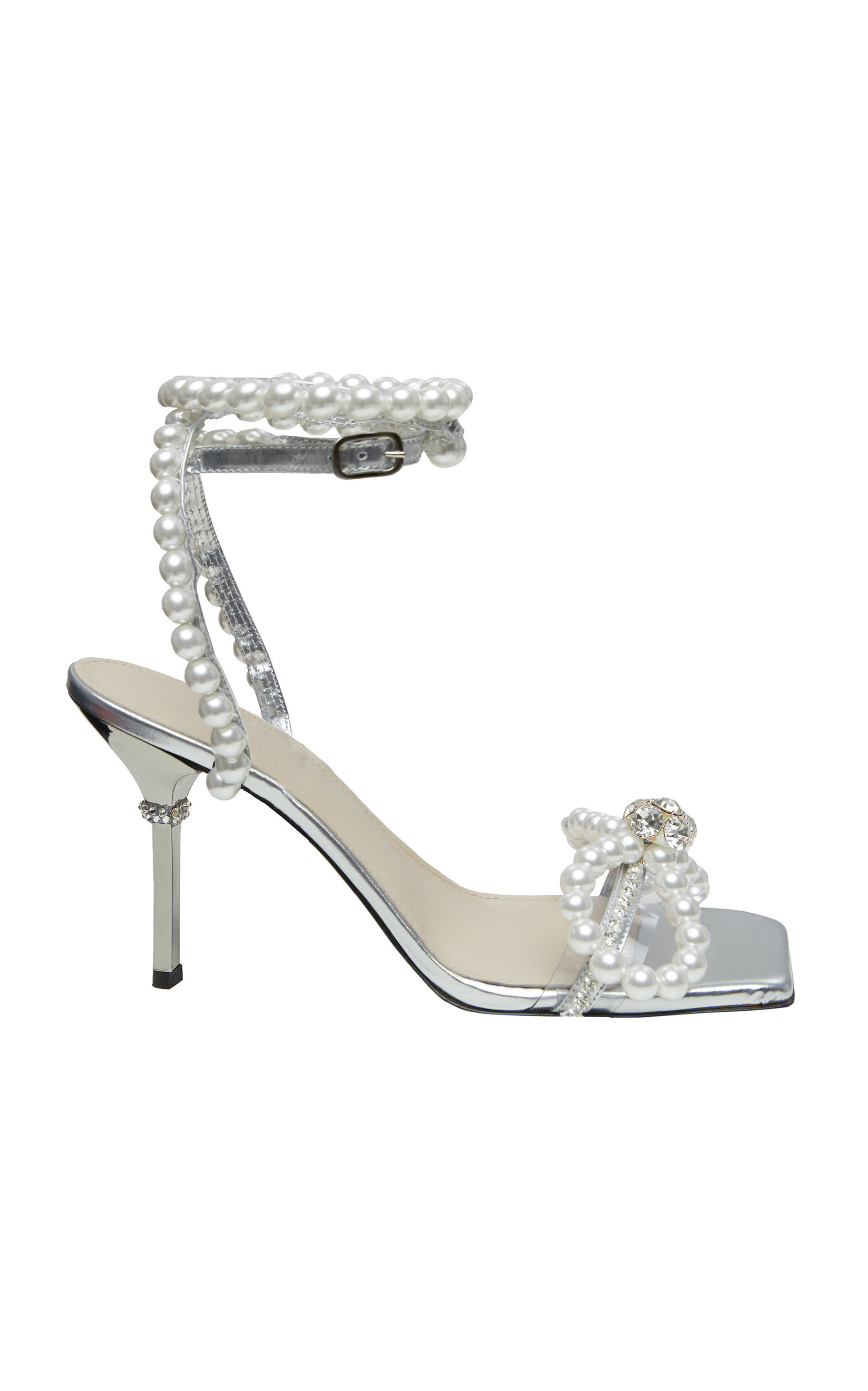Women's Pearl Embellished Sandals