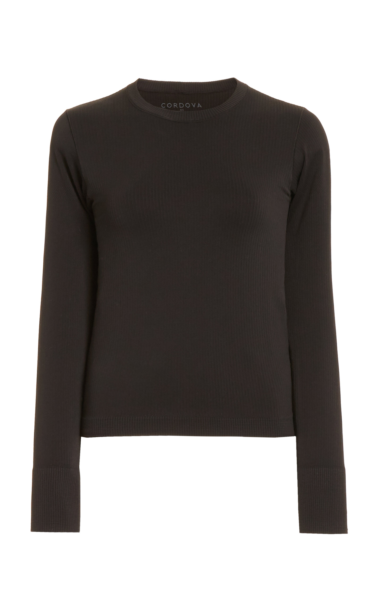 Women's Ribbed-Knit Base Layer Top