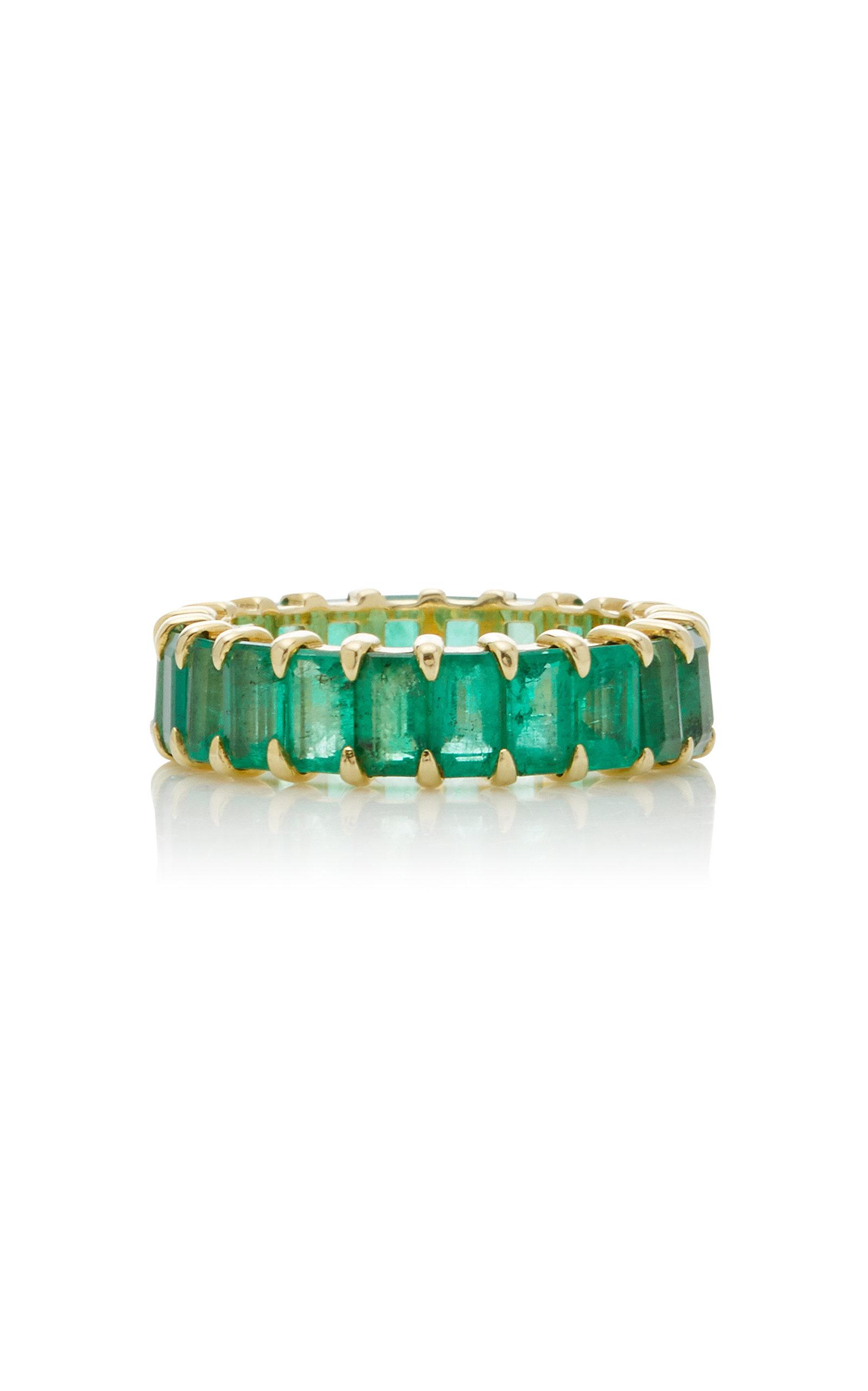 Women's Harper 14K Gold Emerald Ring