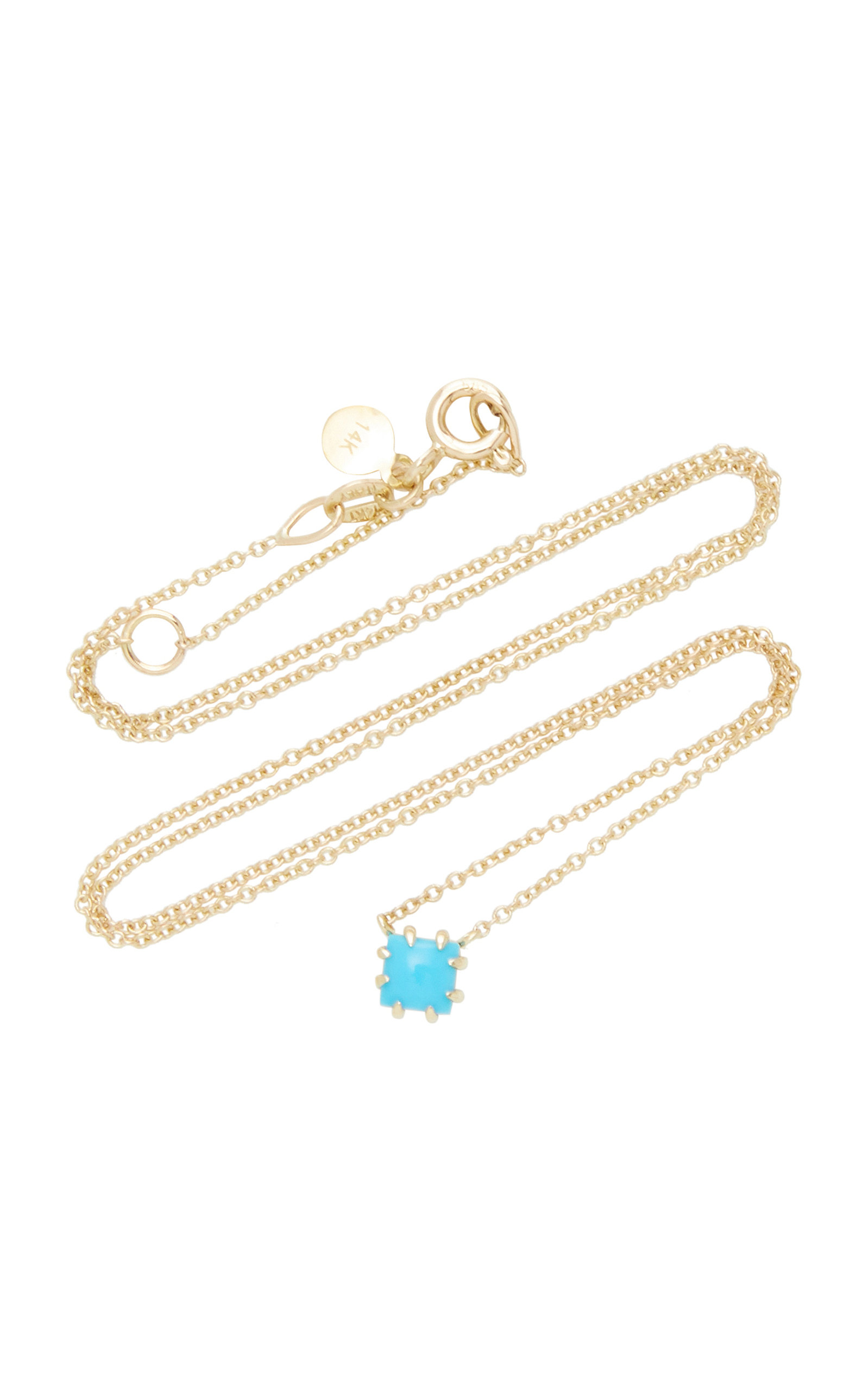 Women's Javina 14K Gold Turquoise Necklace