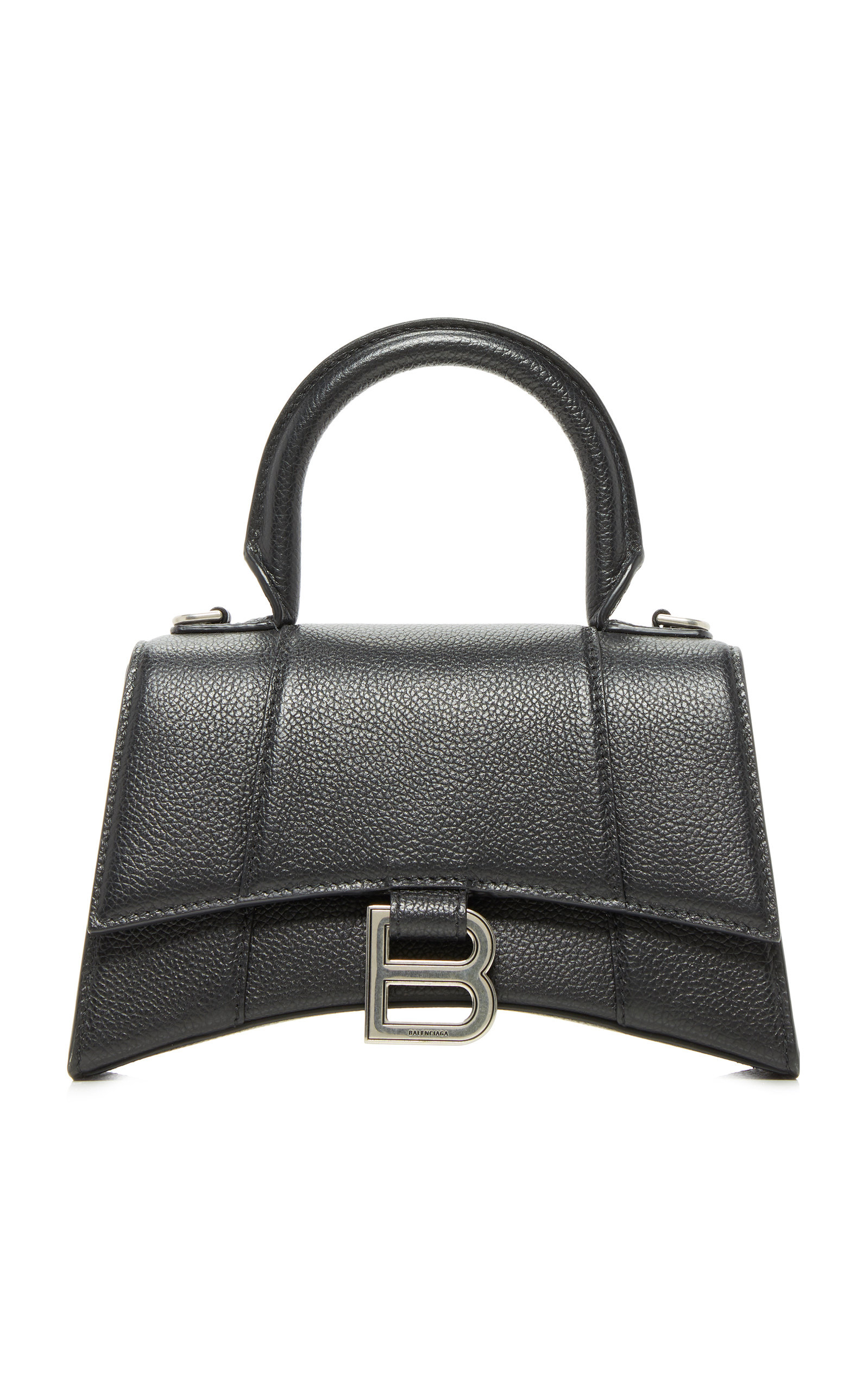 Balenciaga HOURGLASS LEATHER XS BAG