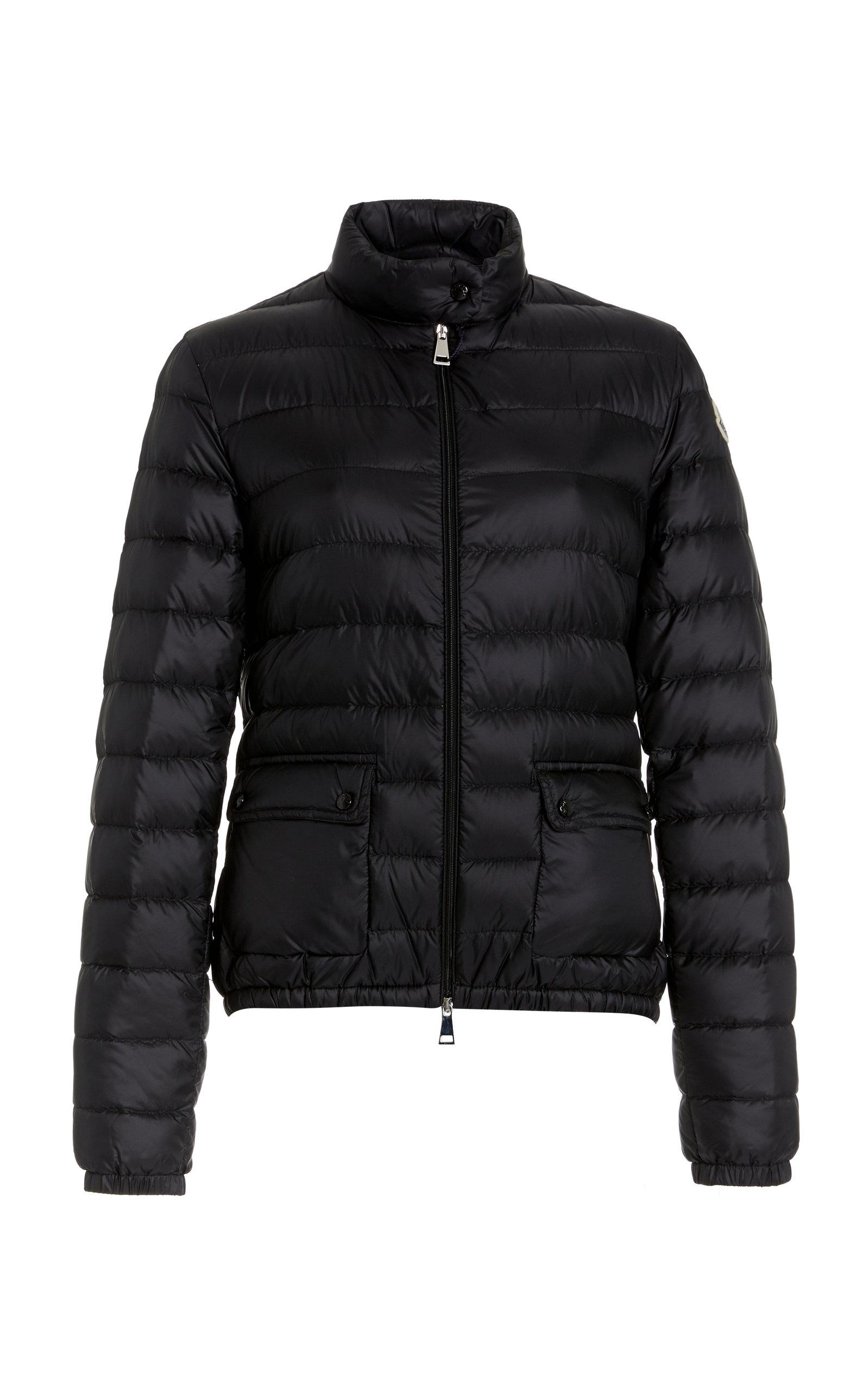 Moncler - Women's Lans Padded Shell Puffer Jacket - Black - Moda Operandi