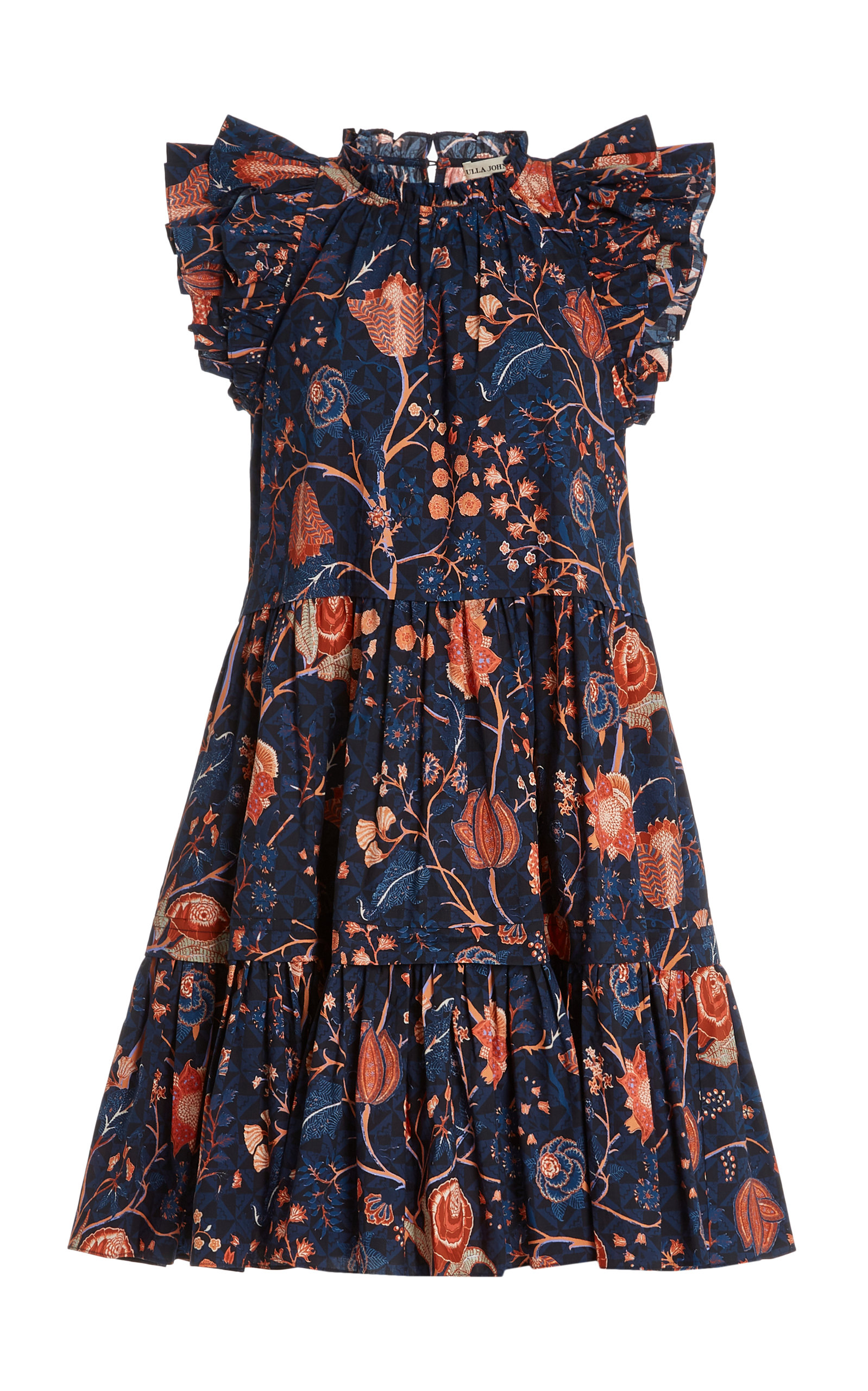 Ulla Johnson EDEN PRINTED COTTON MINI DRESS