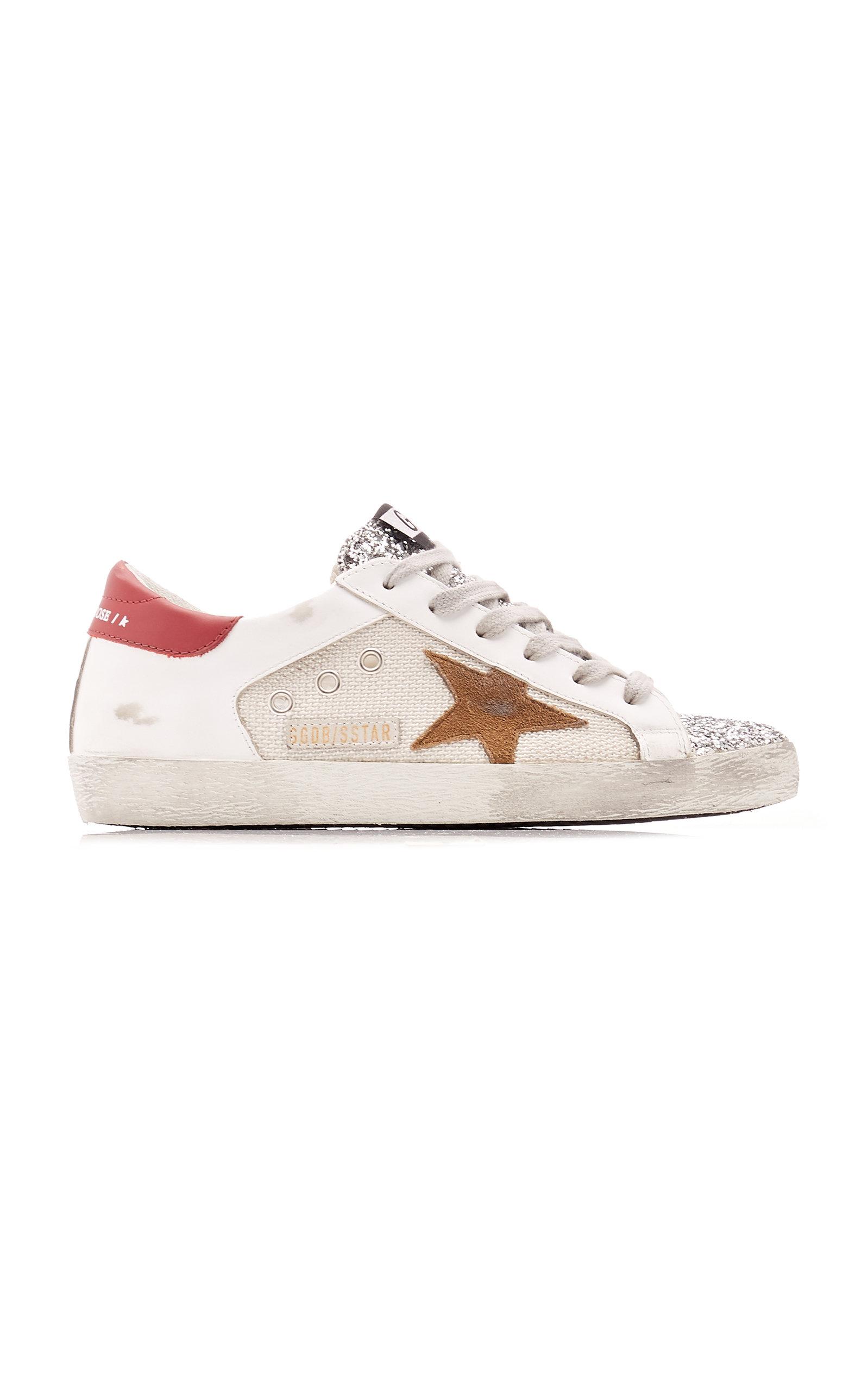 Golden Goose - Women's Superstar Net Sneakers - Multi - Moda Operandi