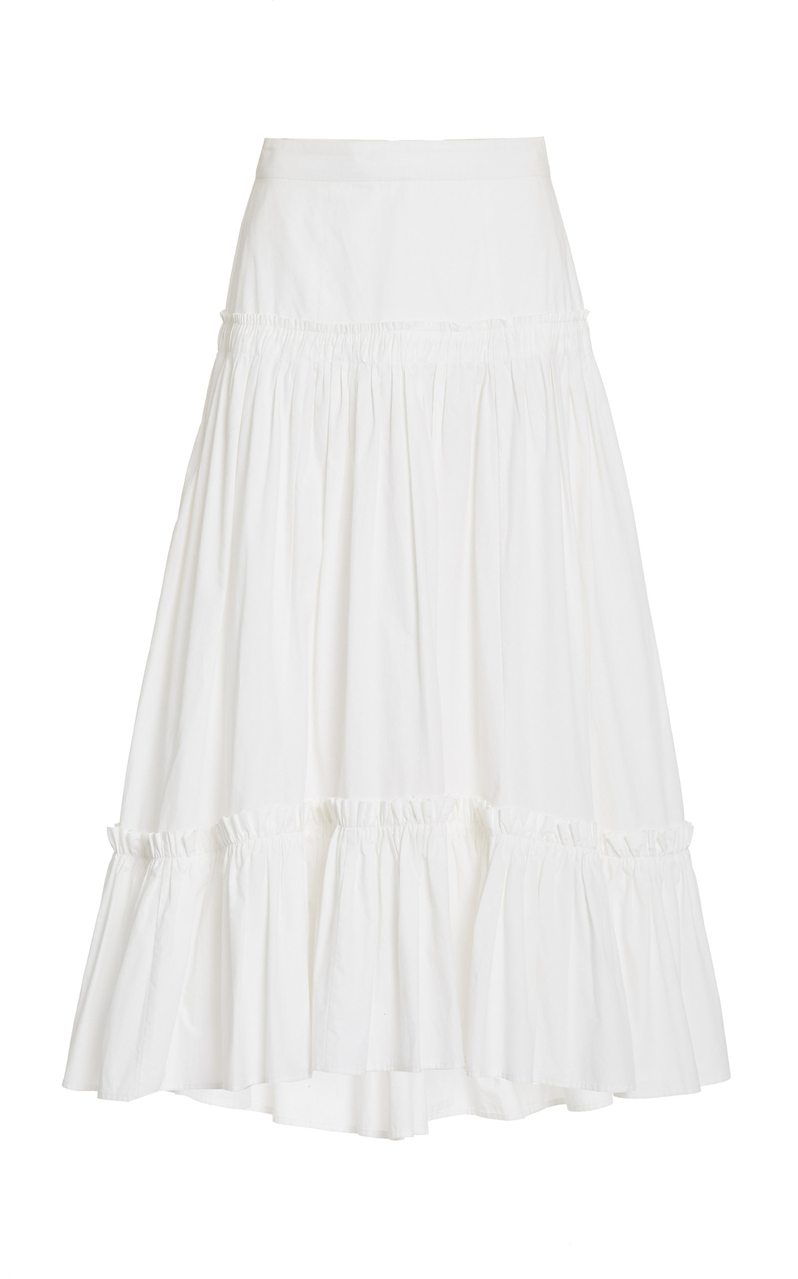 Women's Tisbury Poplin Midi Skirt