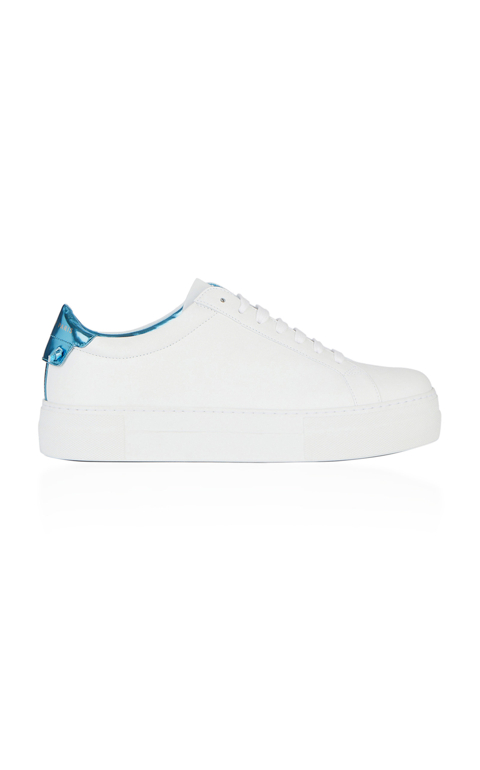 GIVENCHY URBAN STREET PLATFORM LEATHER SNEAKERS