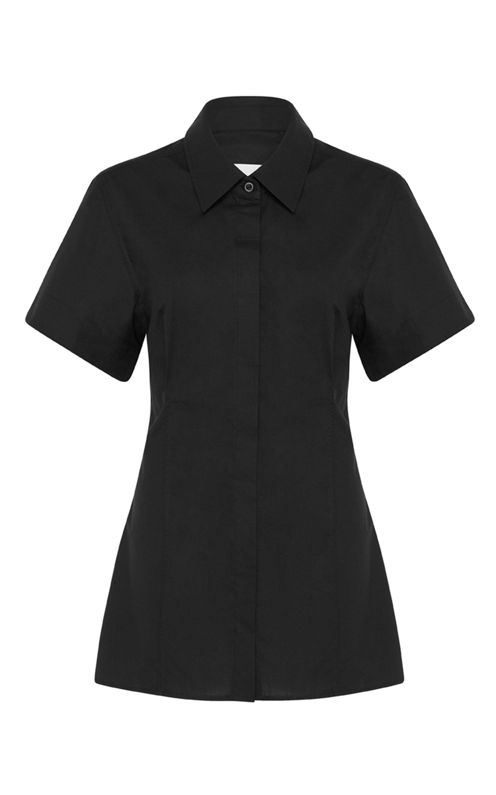 Women's Short Sleeve Cotton Shirt