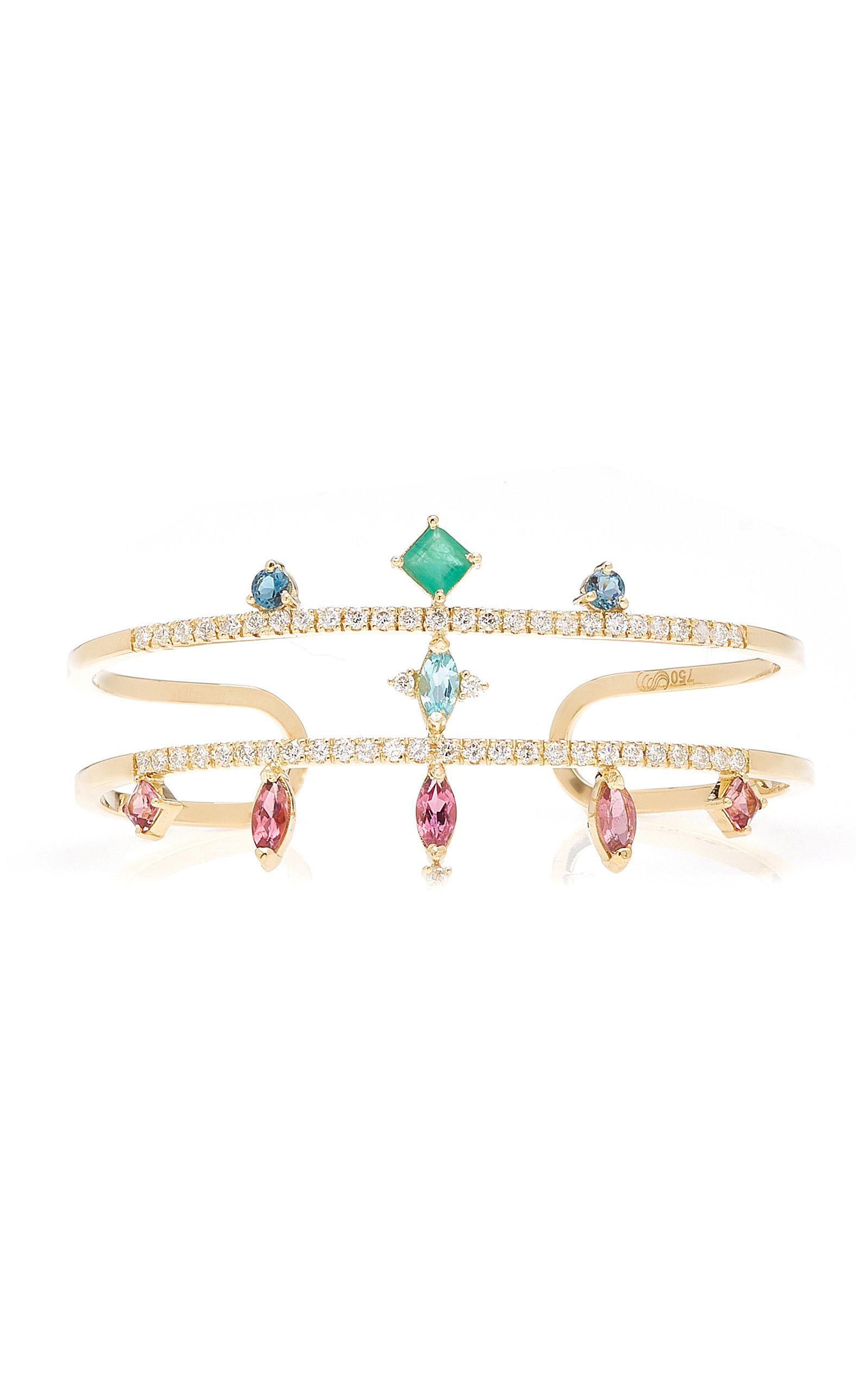 Women's Colore 18K Yellow Gold Multi-Stone Bracelet
