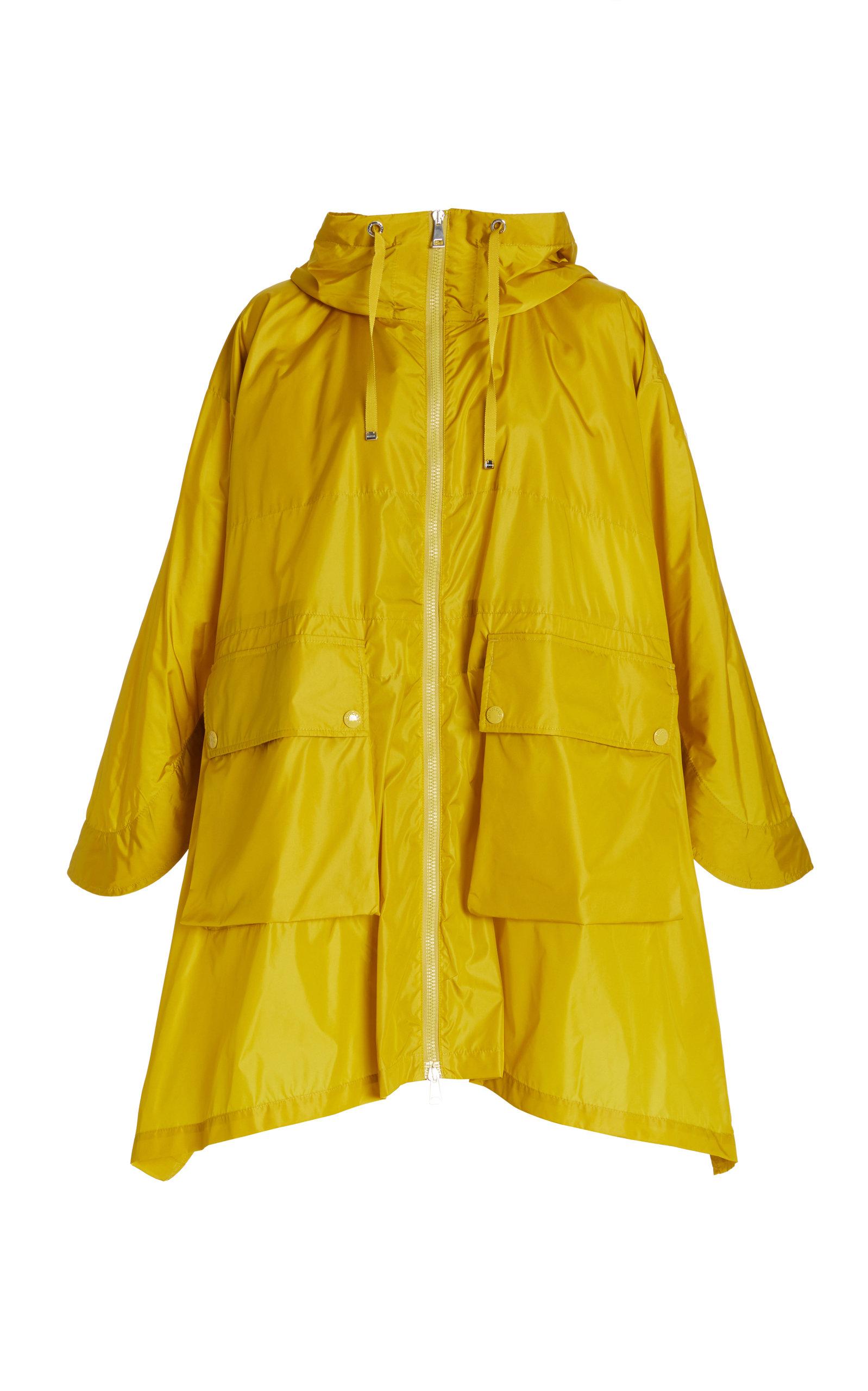 Moncler - Women's Printseps Oversized Shell Rain Jacket - Yellow - Moda Operandi