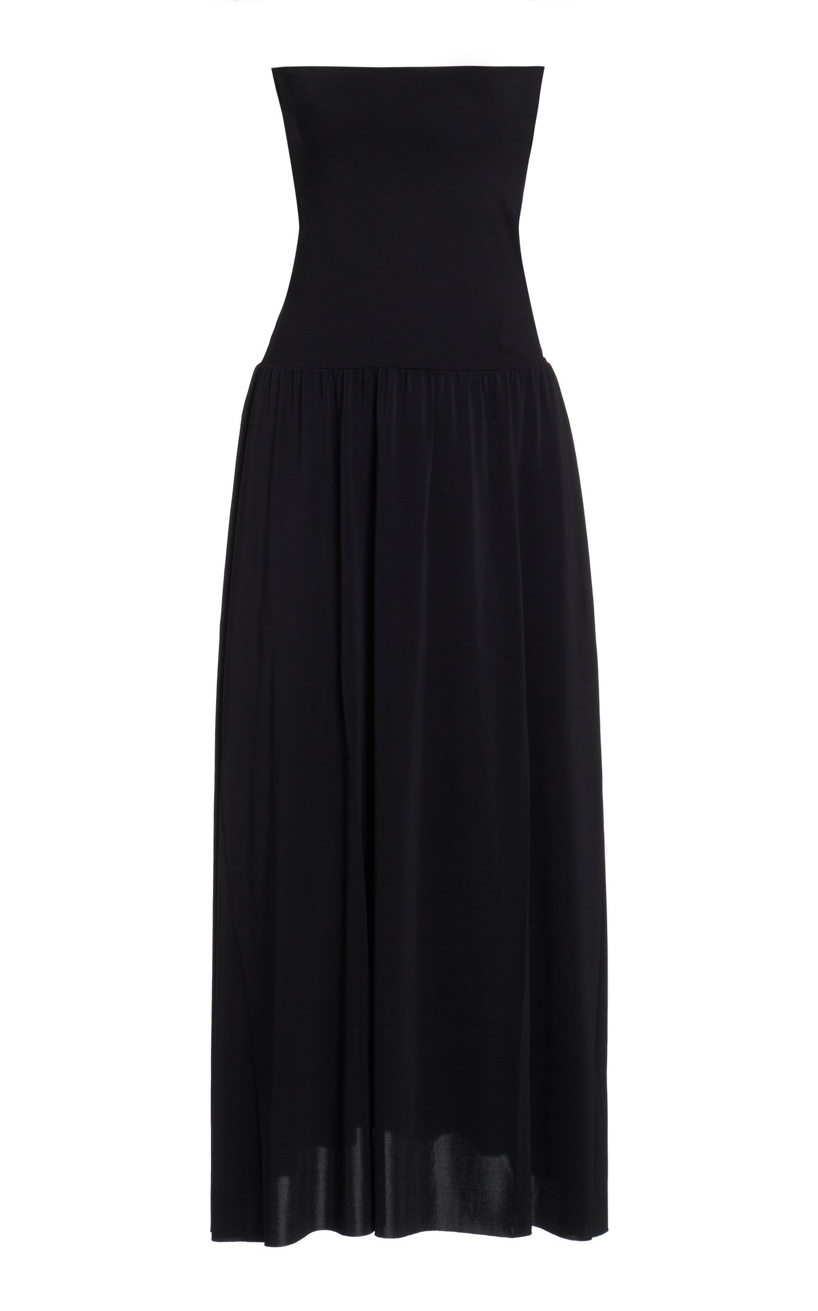 Eres – Women's Oda Jersey Swimsuit Cover Up – Black – Moda Operandi