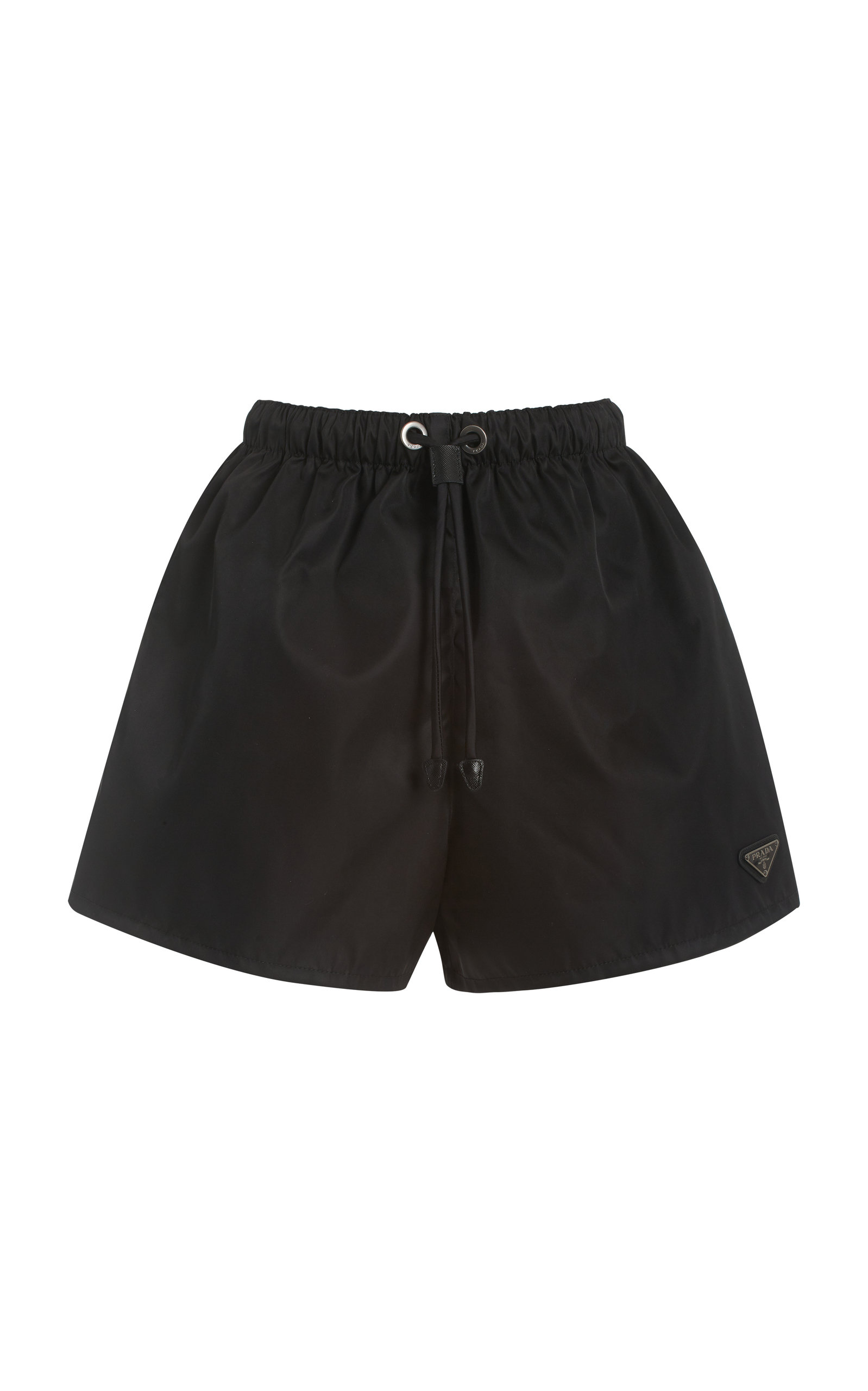 Prada LOGO-DETAILED NYLON GABARDINE SHORTS