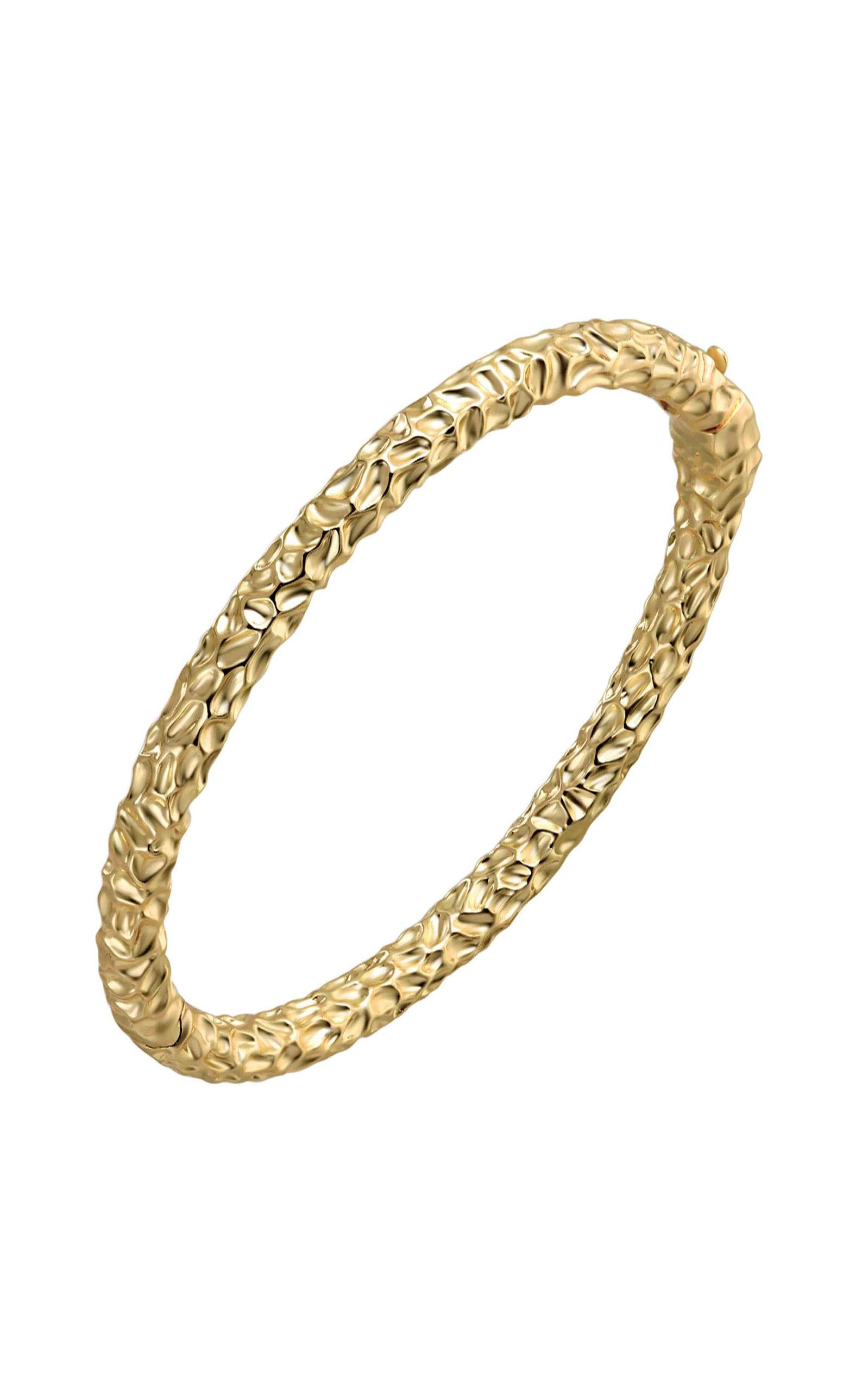 Emili - Women's Marla Gold-Plated Bangle - Gold - Moda Operandi