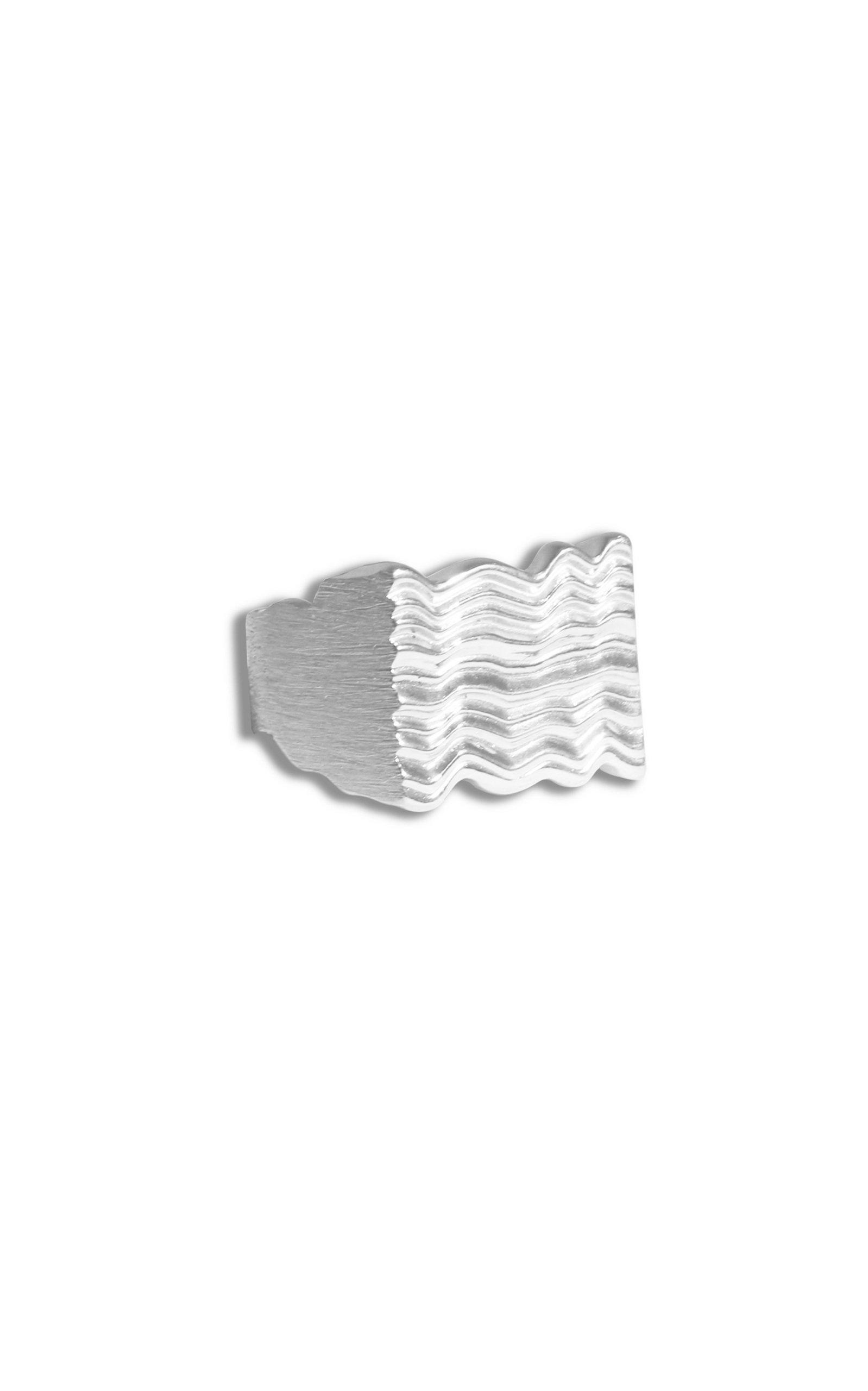 Women's Unda Sterling Silver Ring