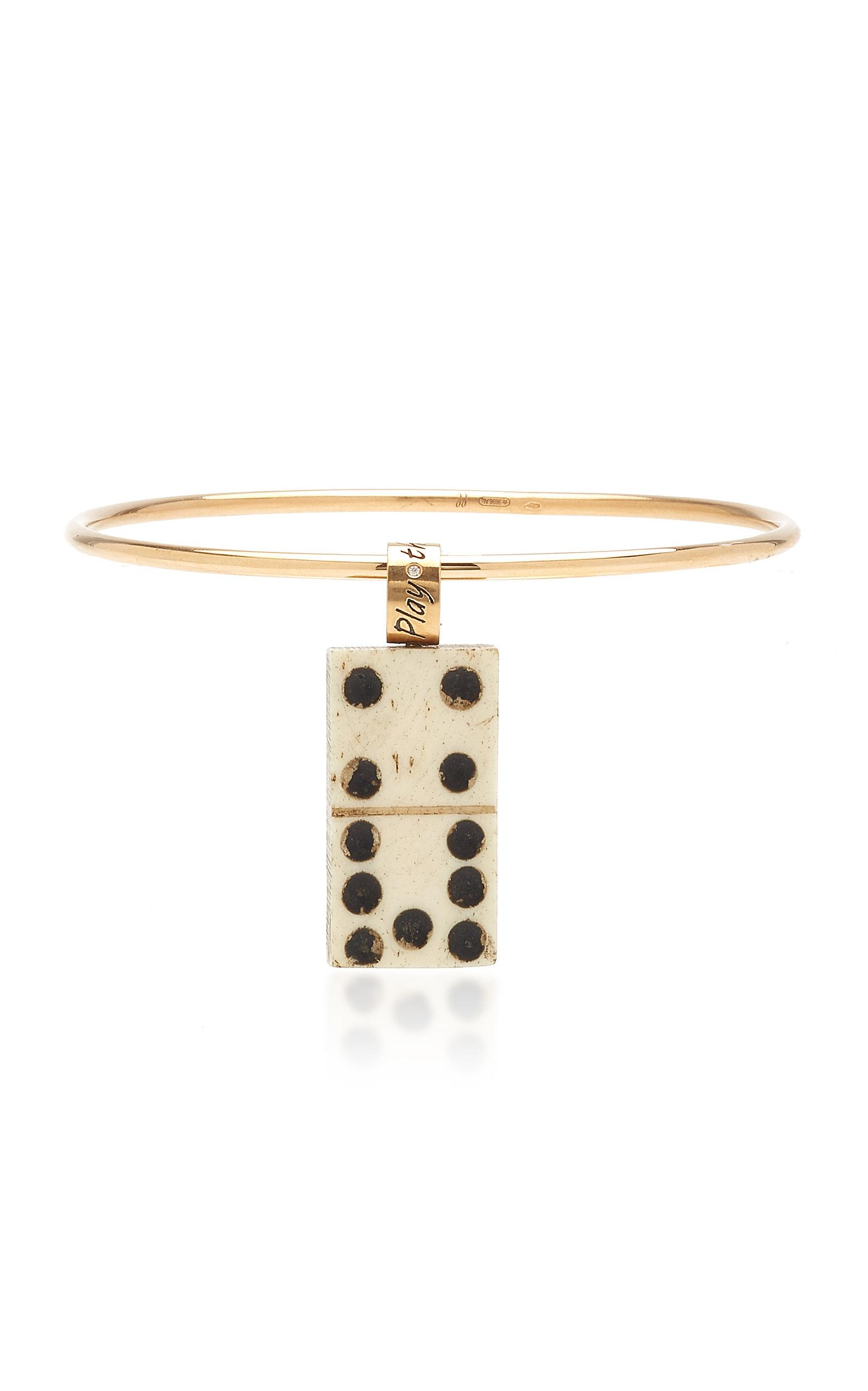 Women's Play the Game 9K Rose Gold Diamond Bracelet