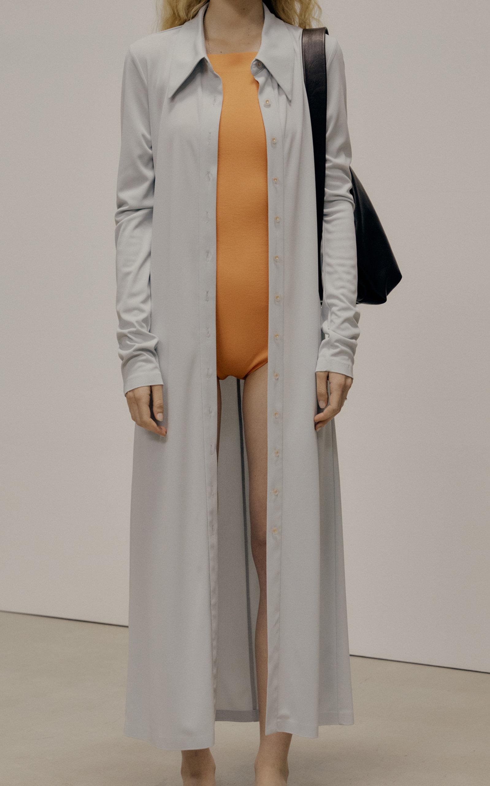 Low Classic WOMEN'S JERSEY MAXI SHIRT DRESS