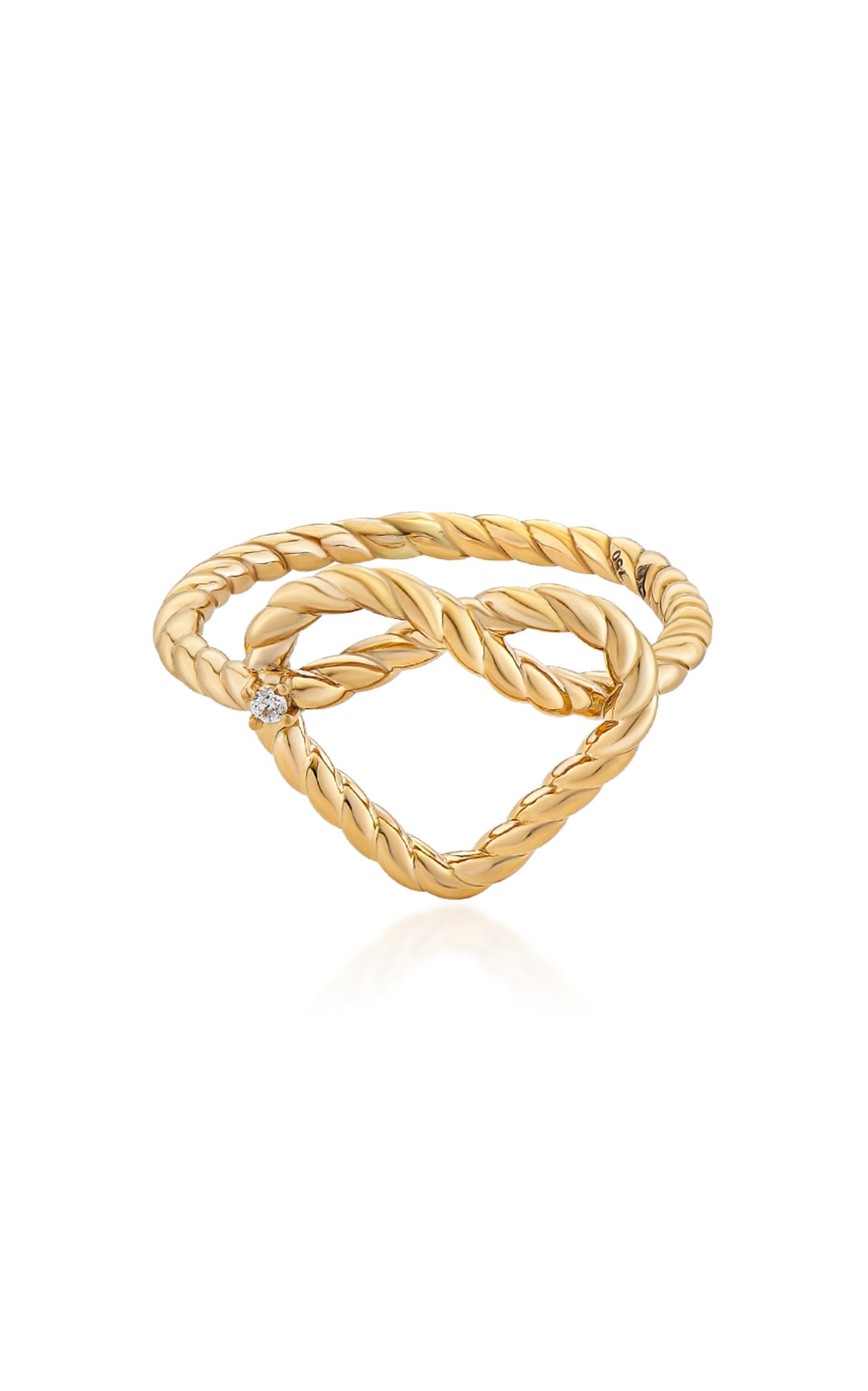 Women's Promise Alyada 18K Yellow Gold Diamond Ring