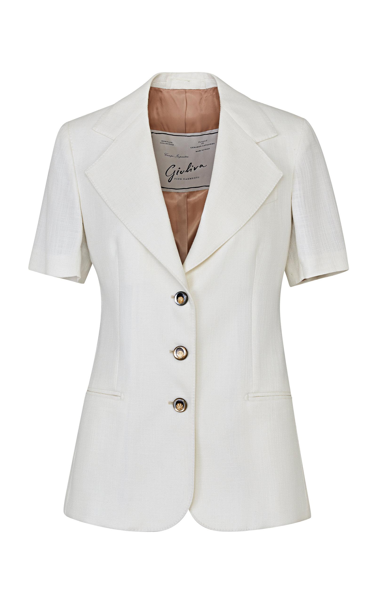 Women's The Ginestra Wool-Cotton Blend Blazer