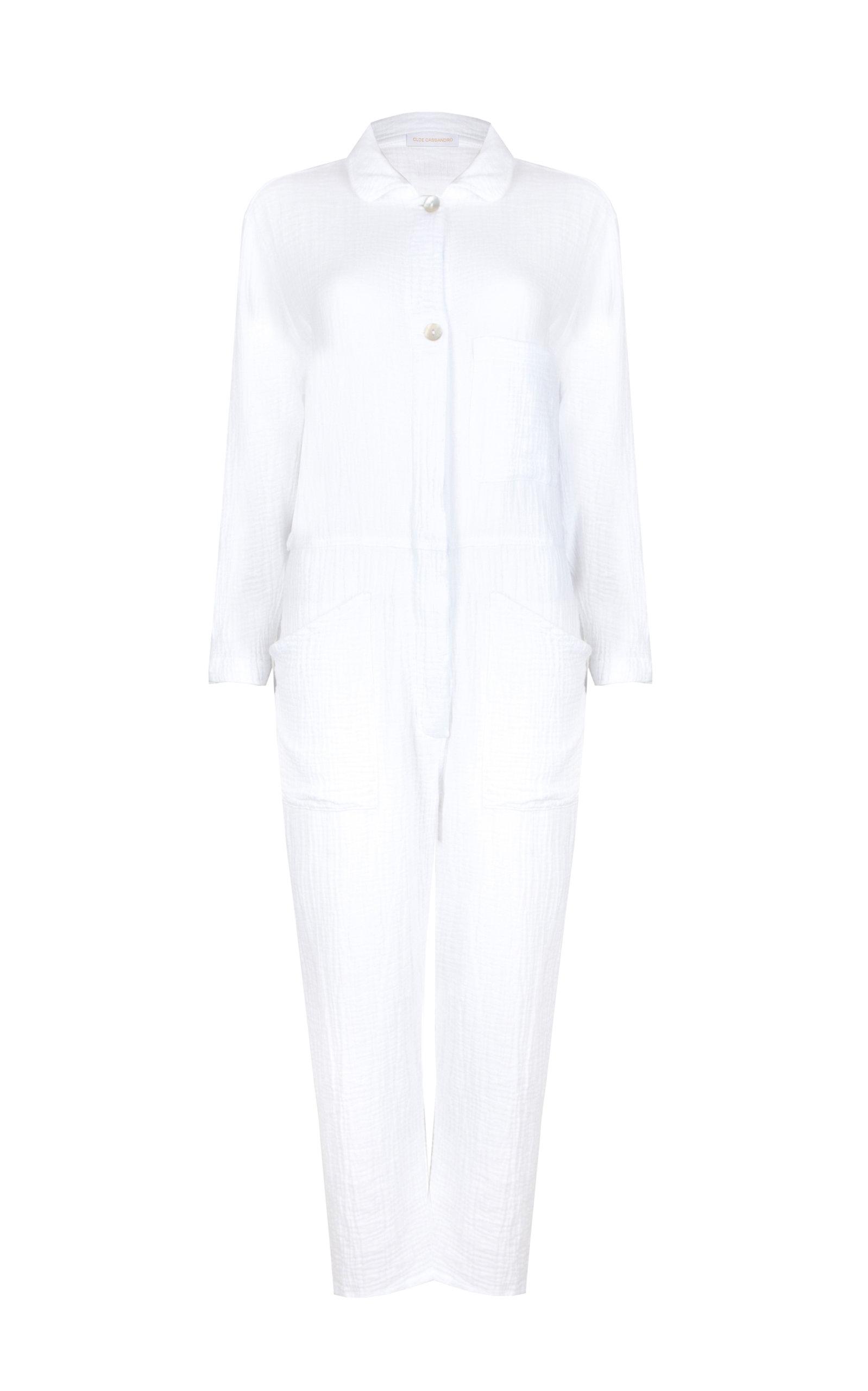 Women's Angelou Cotton Cropped Jumpsuit