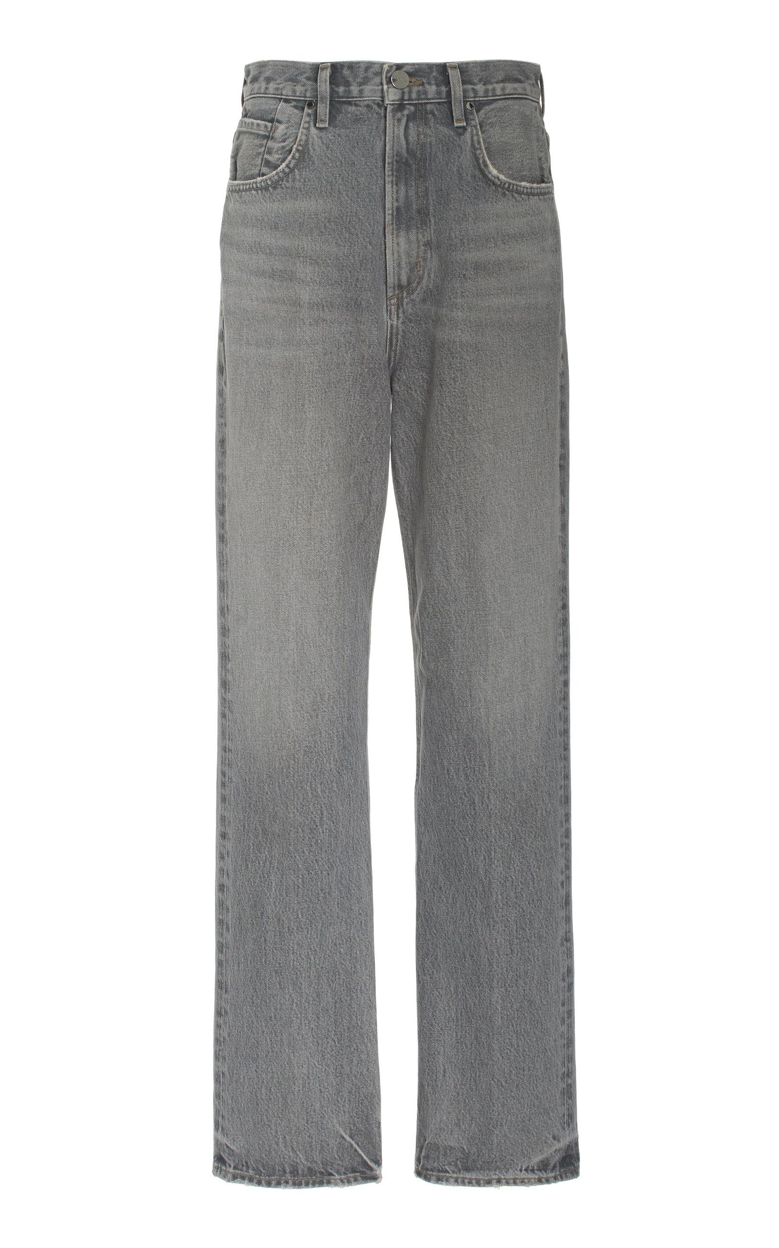 Women's The Martin Rigid High-Rise Straight-Leg Jeans
