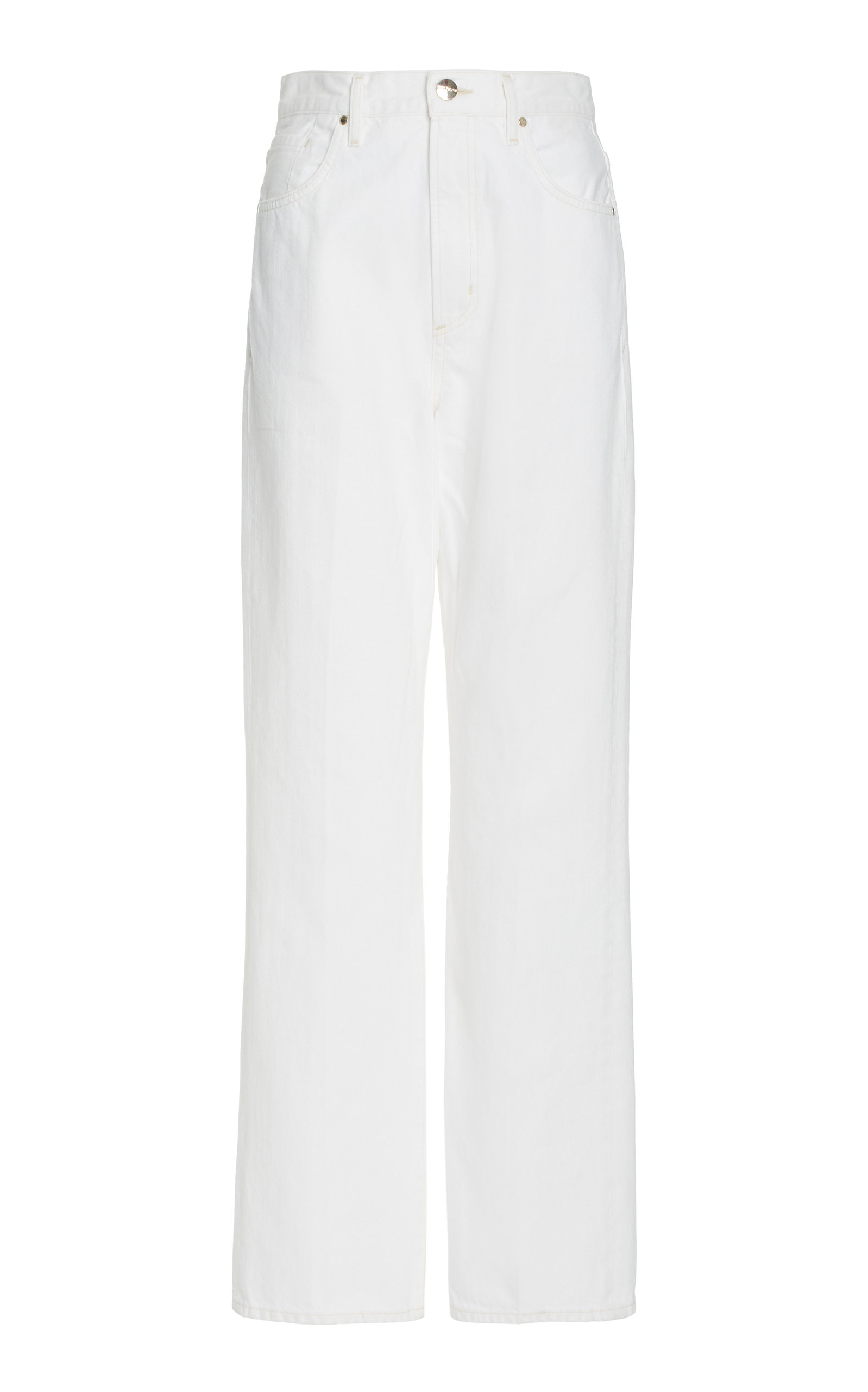 Women's The Curved Rigid High-Rise Straight-Leg Jeans