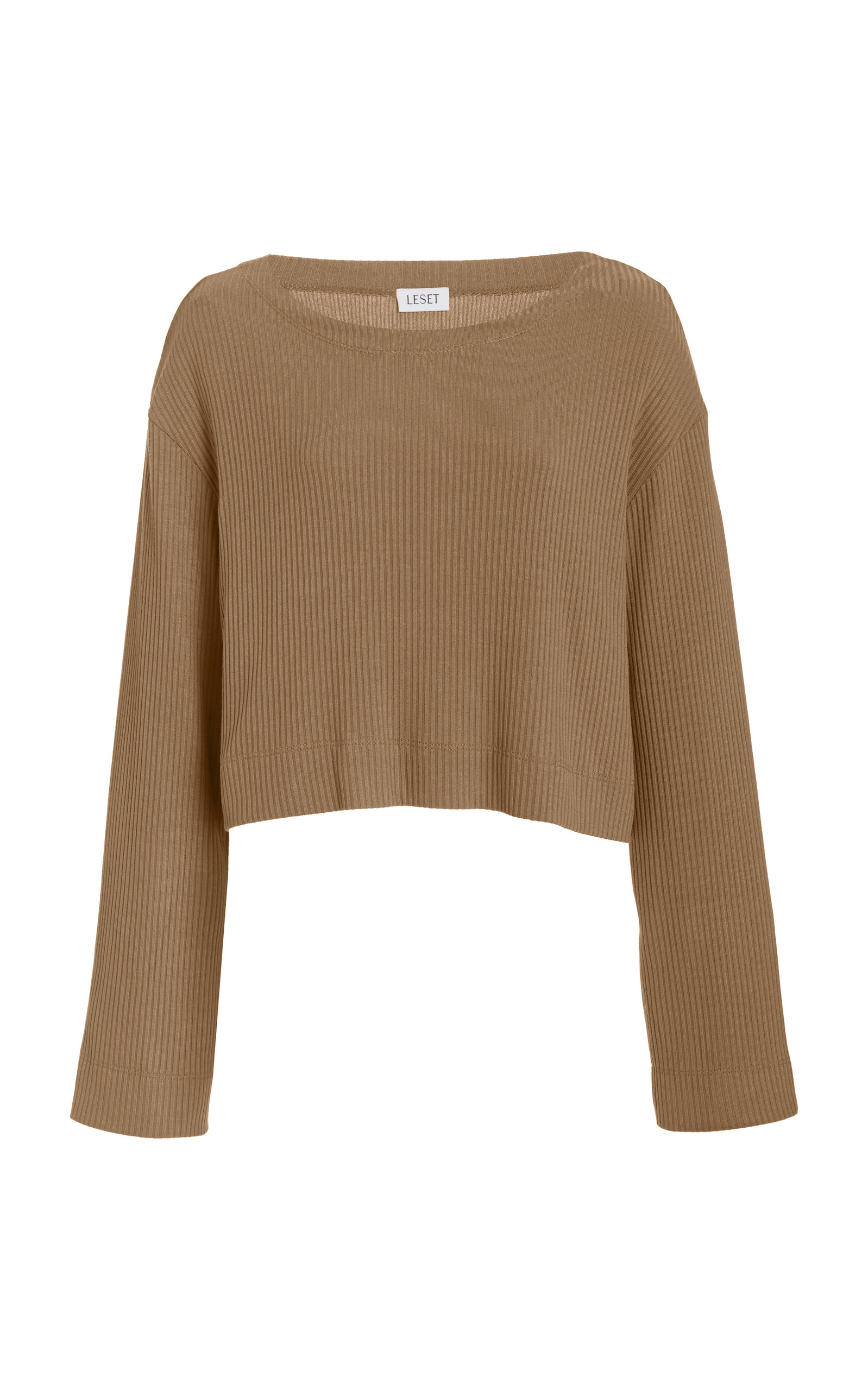 Women's Ali Ribbed-Knit Cropped Top