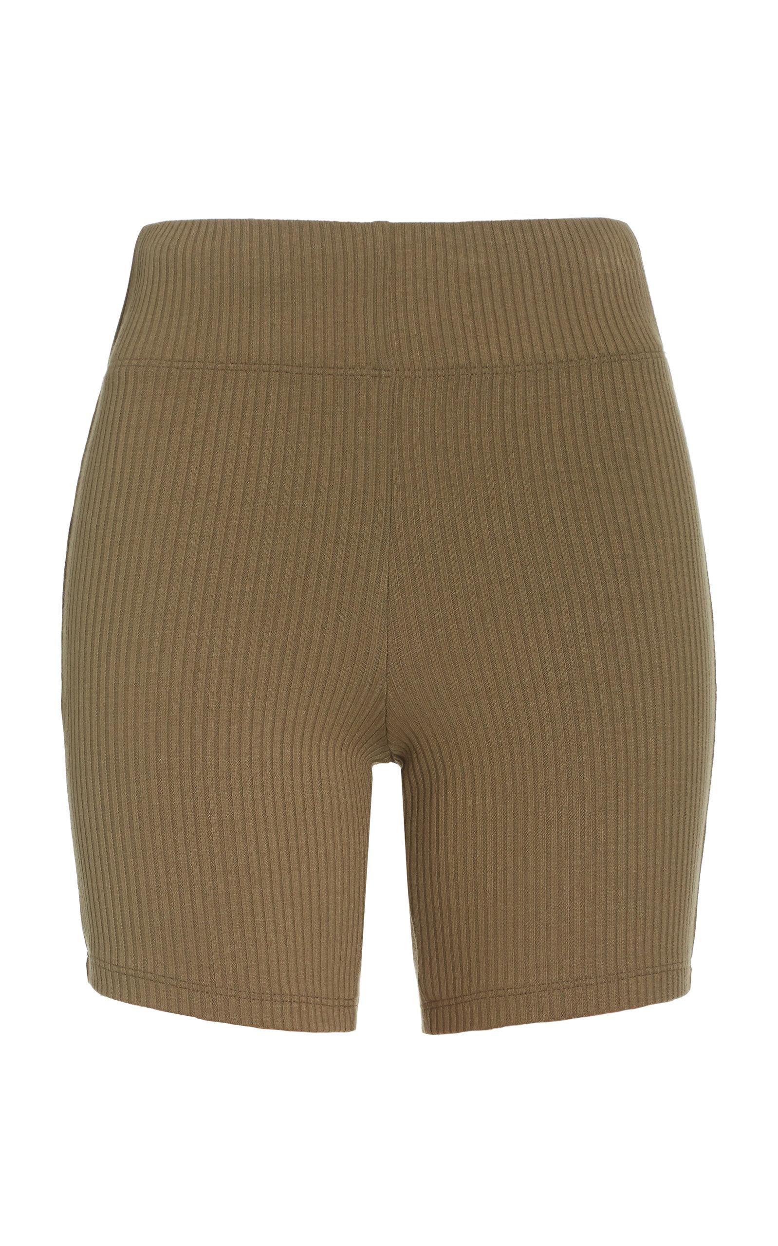 Women's Ali Ribbed-Knit Bike Shorts
