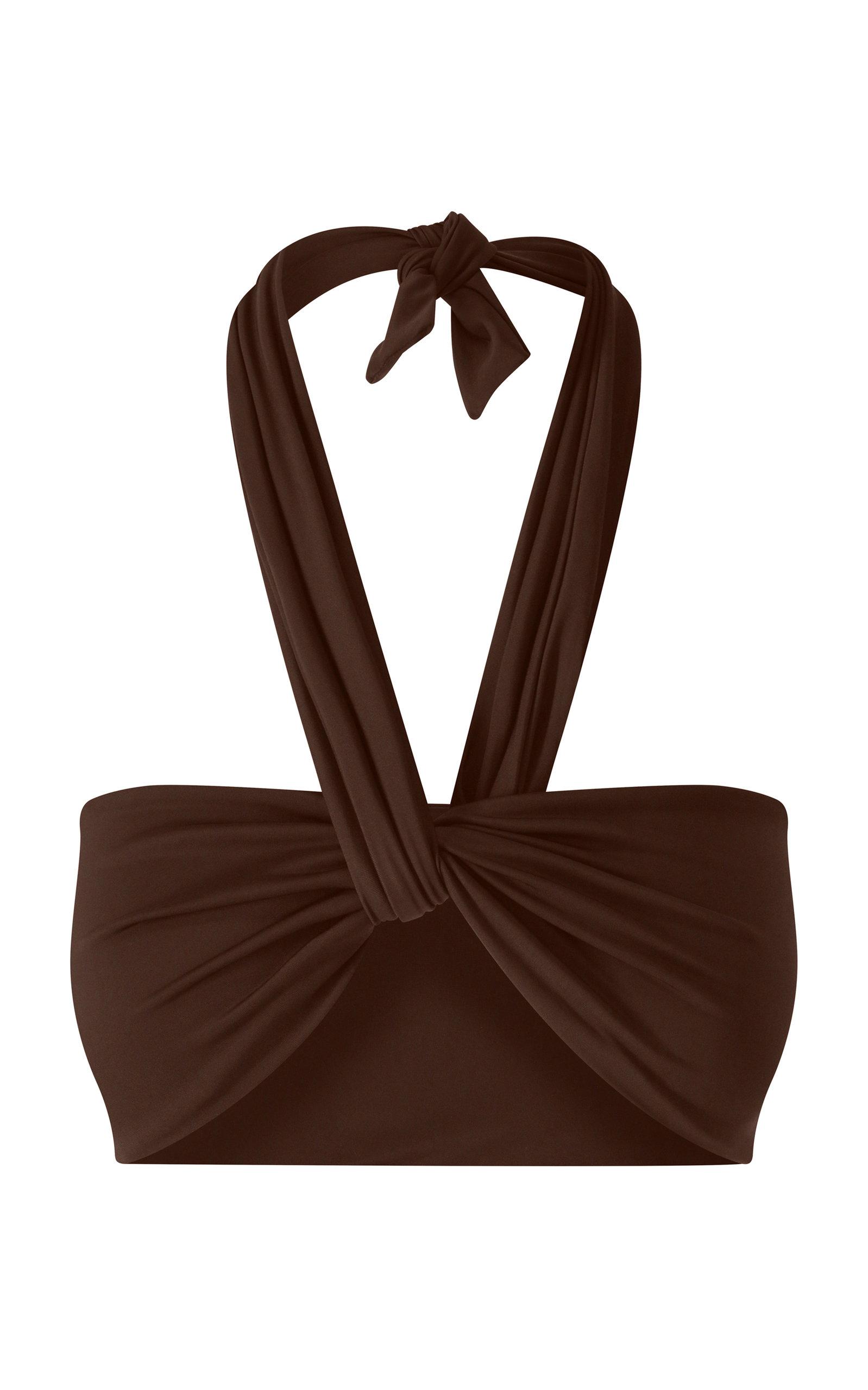 Women's Wrap-Tie Bikini Top