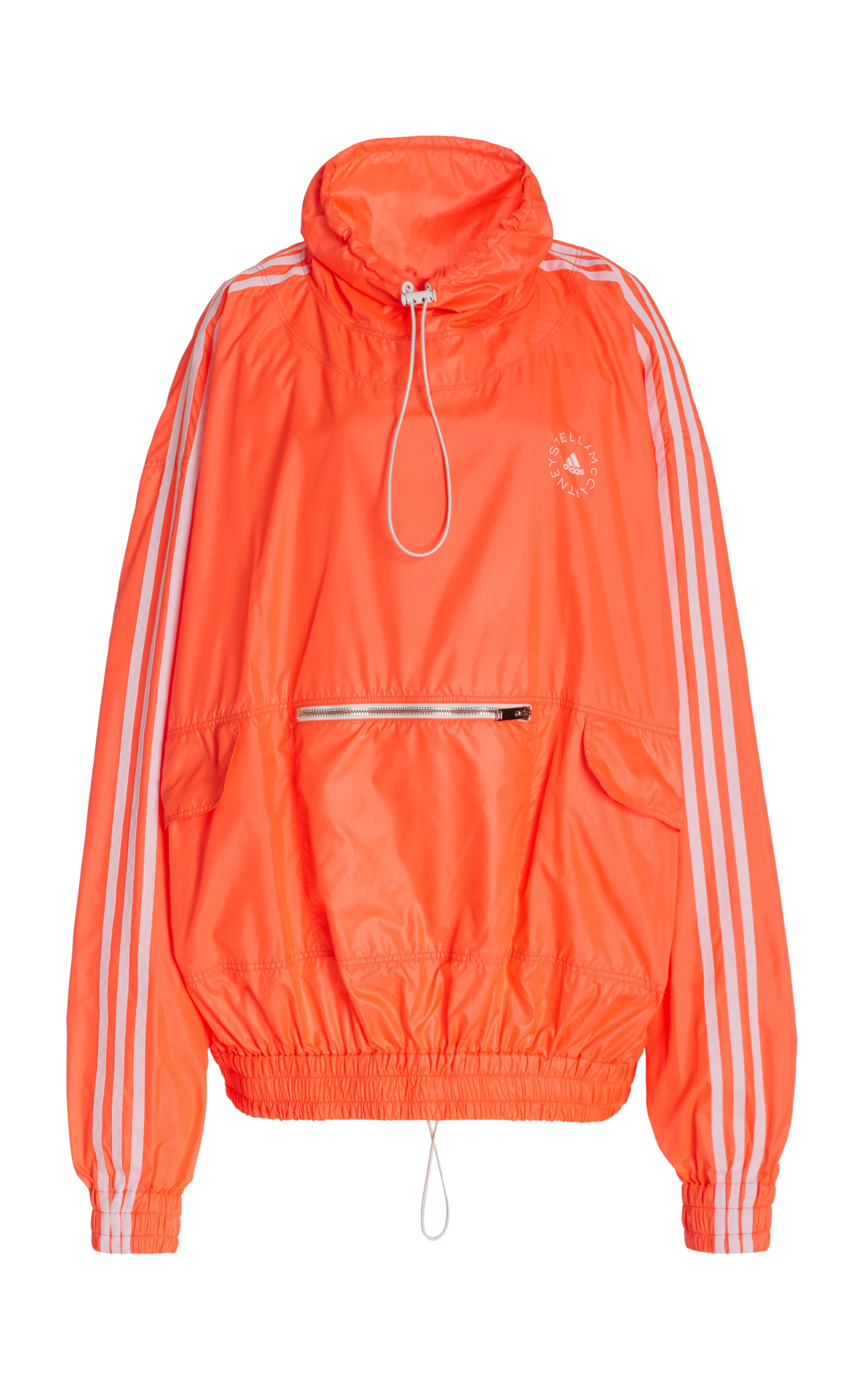 Stella Mccartney +ADIDAS JAYLA OVERSIZED COTTON-BLEND HOODIE