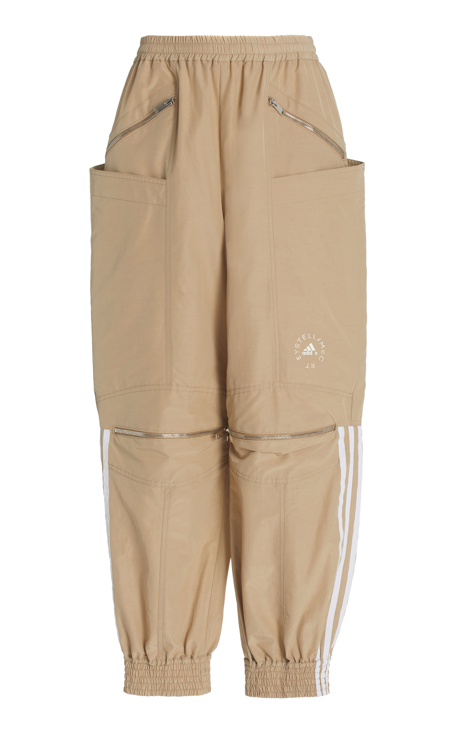 Stella Mccartney +ADIDAS JUNE COTTON-BLEND PANTS