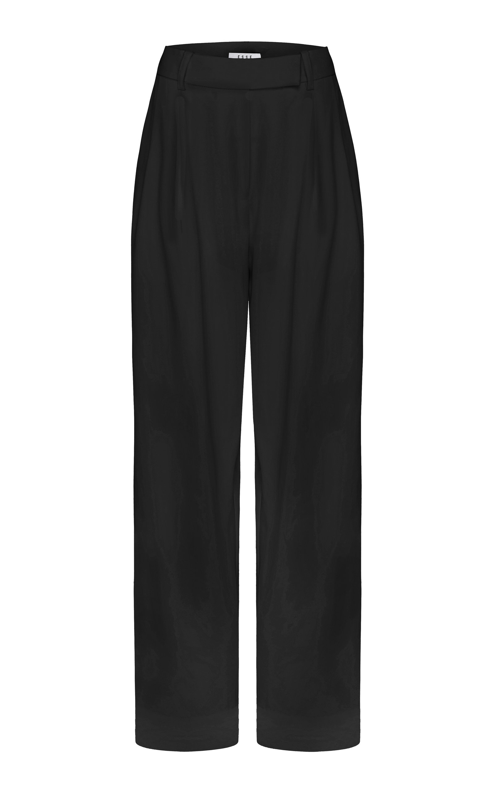 Women's Cotton-Blend Tailored Trousers