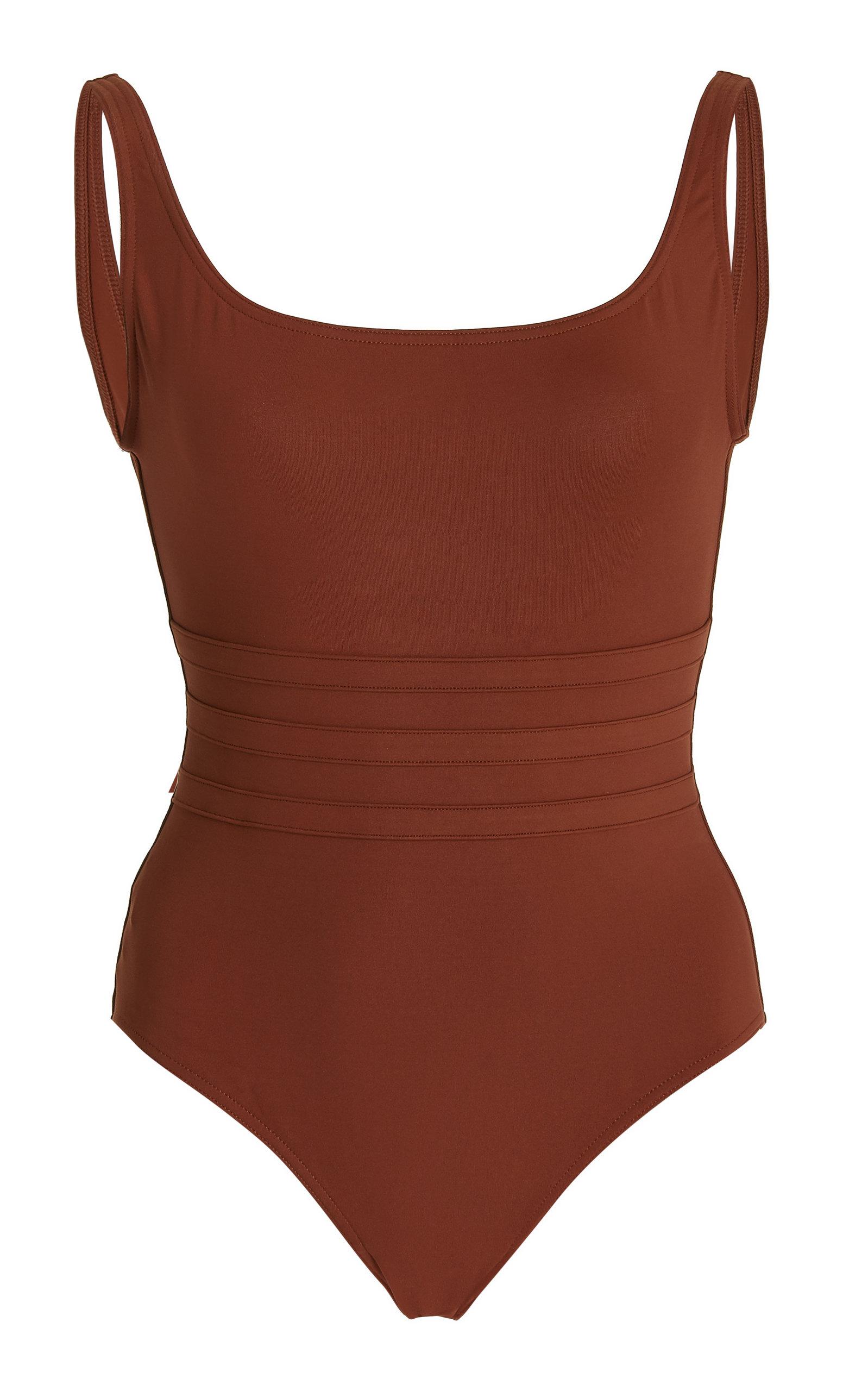Eres – Women's Asia One-Piece Swimsuit – Brown – Moda Operandi