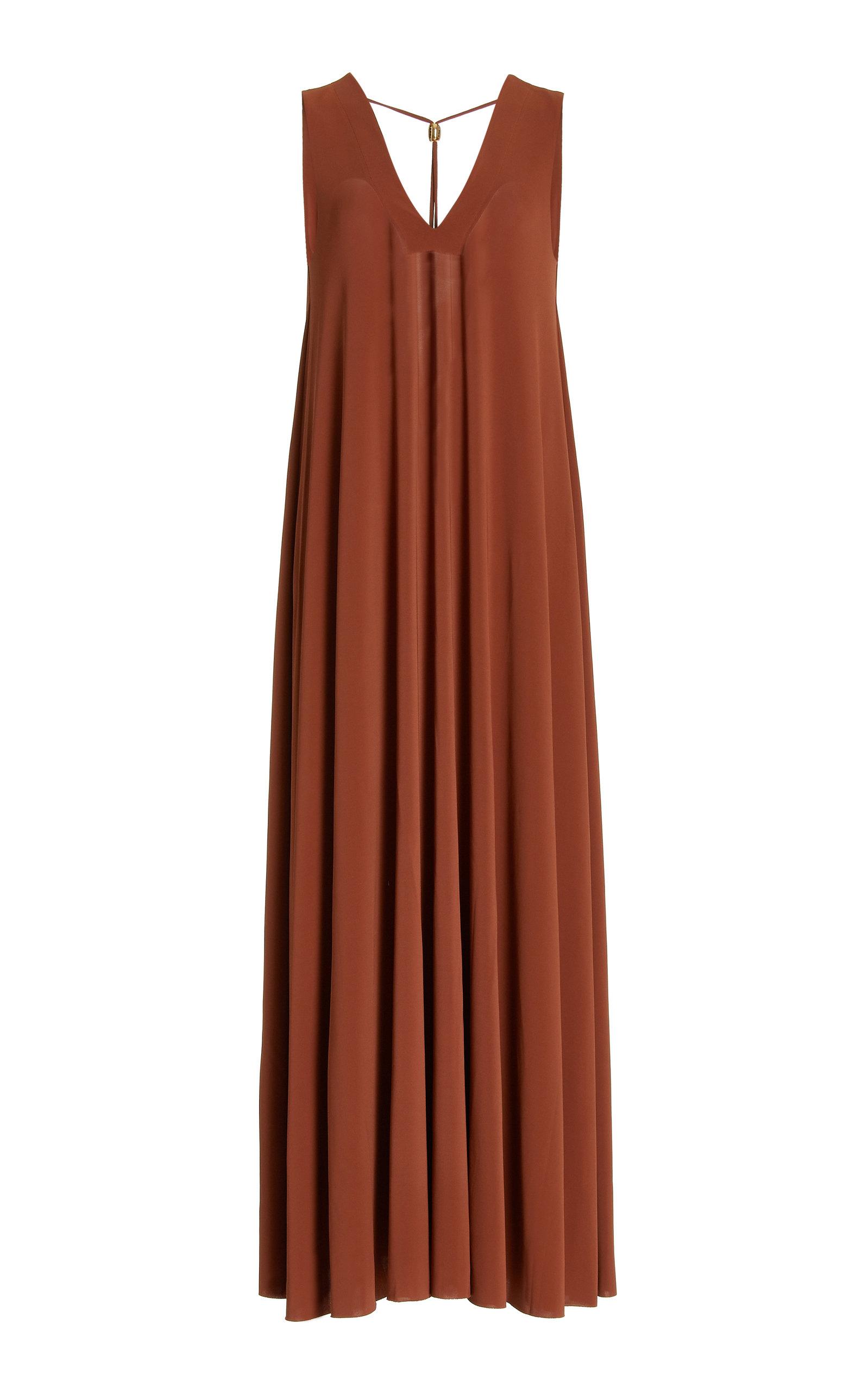 Eres – Women's Axelle Jersey Maxi Dress – Brown – Moda Operandi