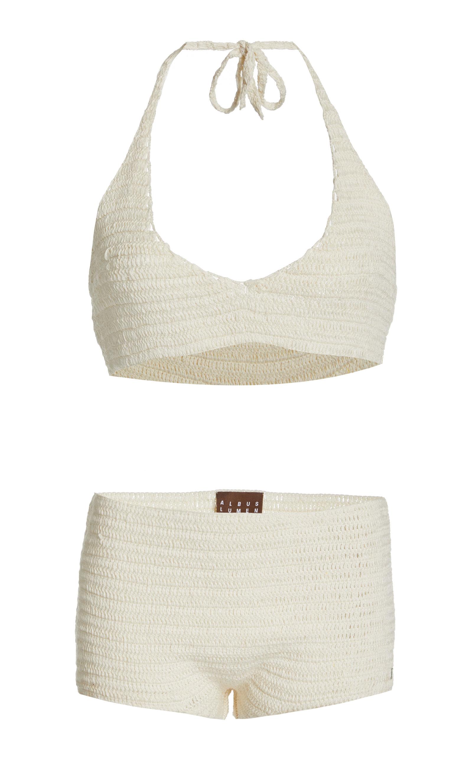Women's Crochet Knit Bikini Set