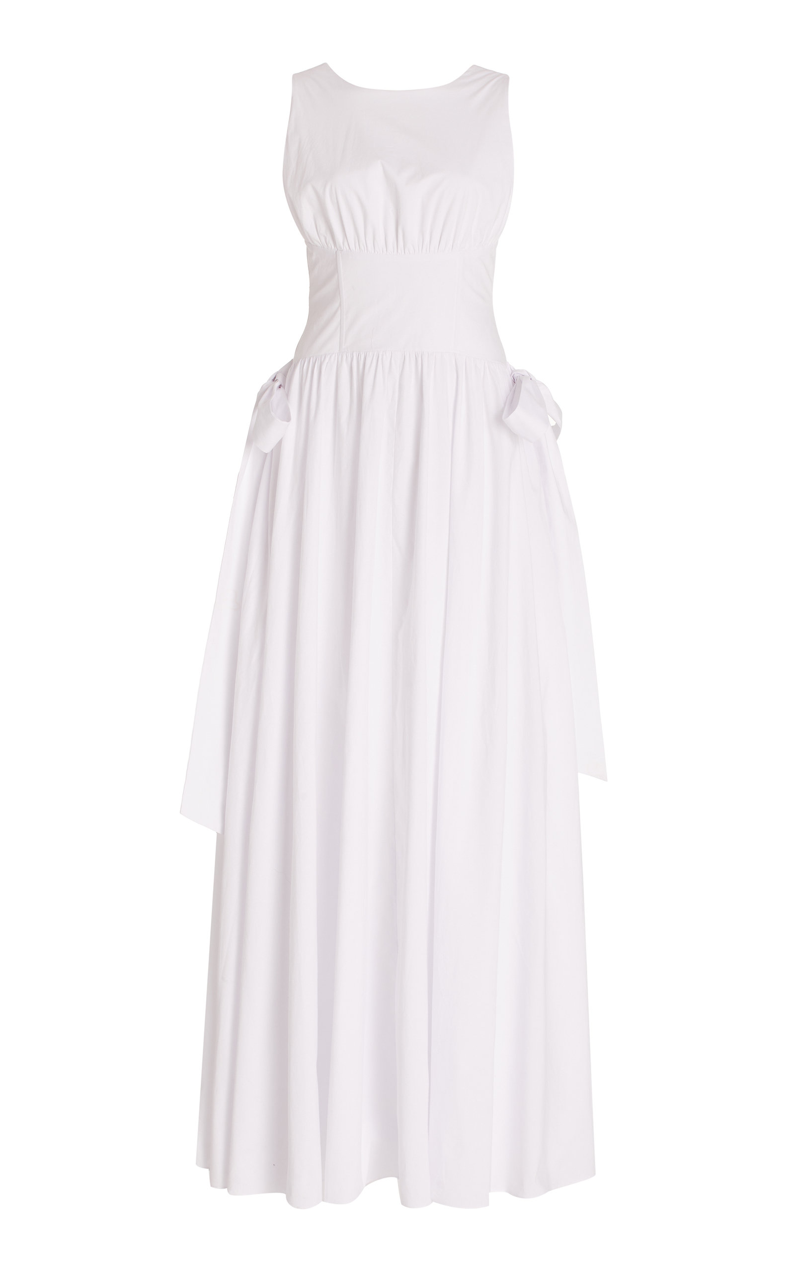 Women's Hadasa Cotton Maxi Corset Dress