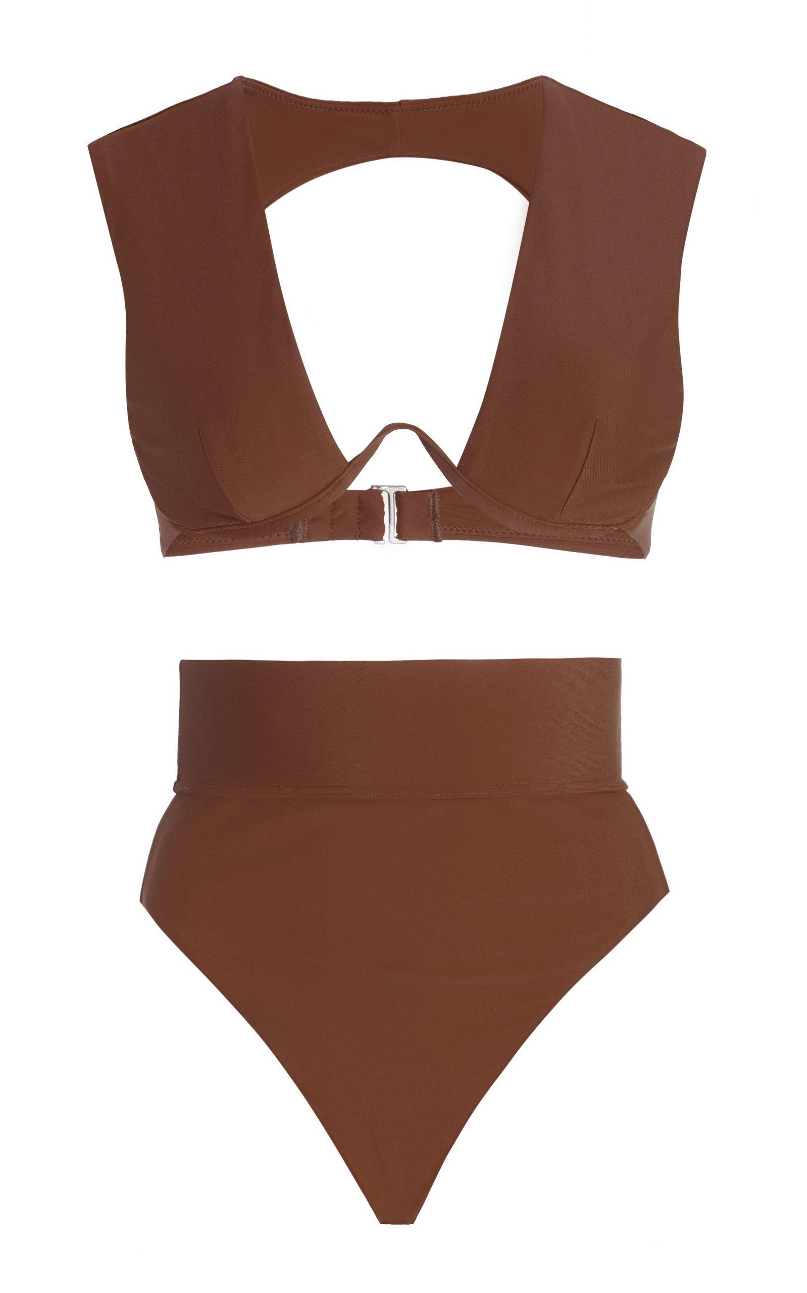 Women's Kuwa Cutout High-Rise Bikini