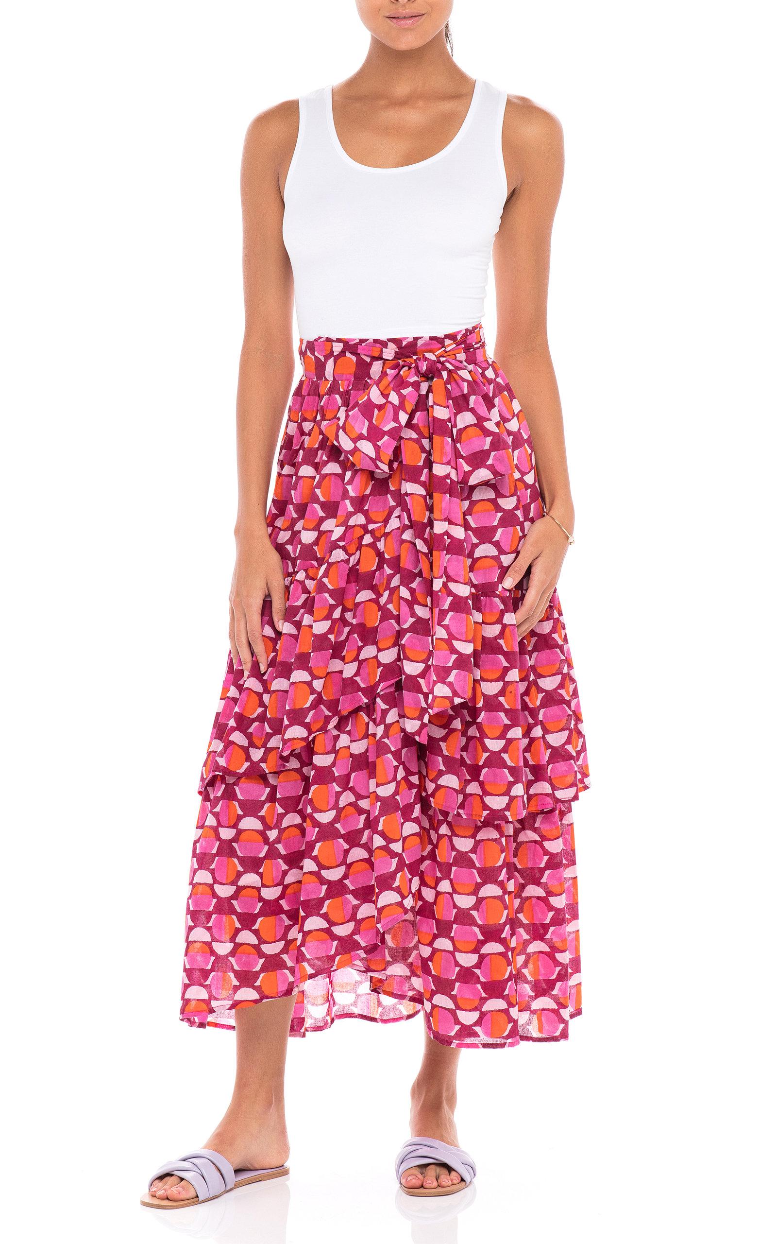 Women's Frances Cotton Voile Skirt