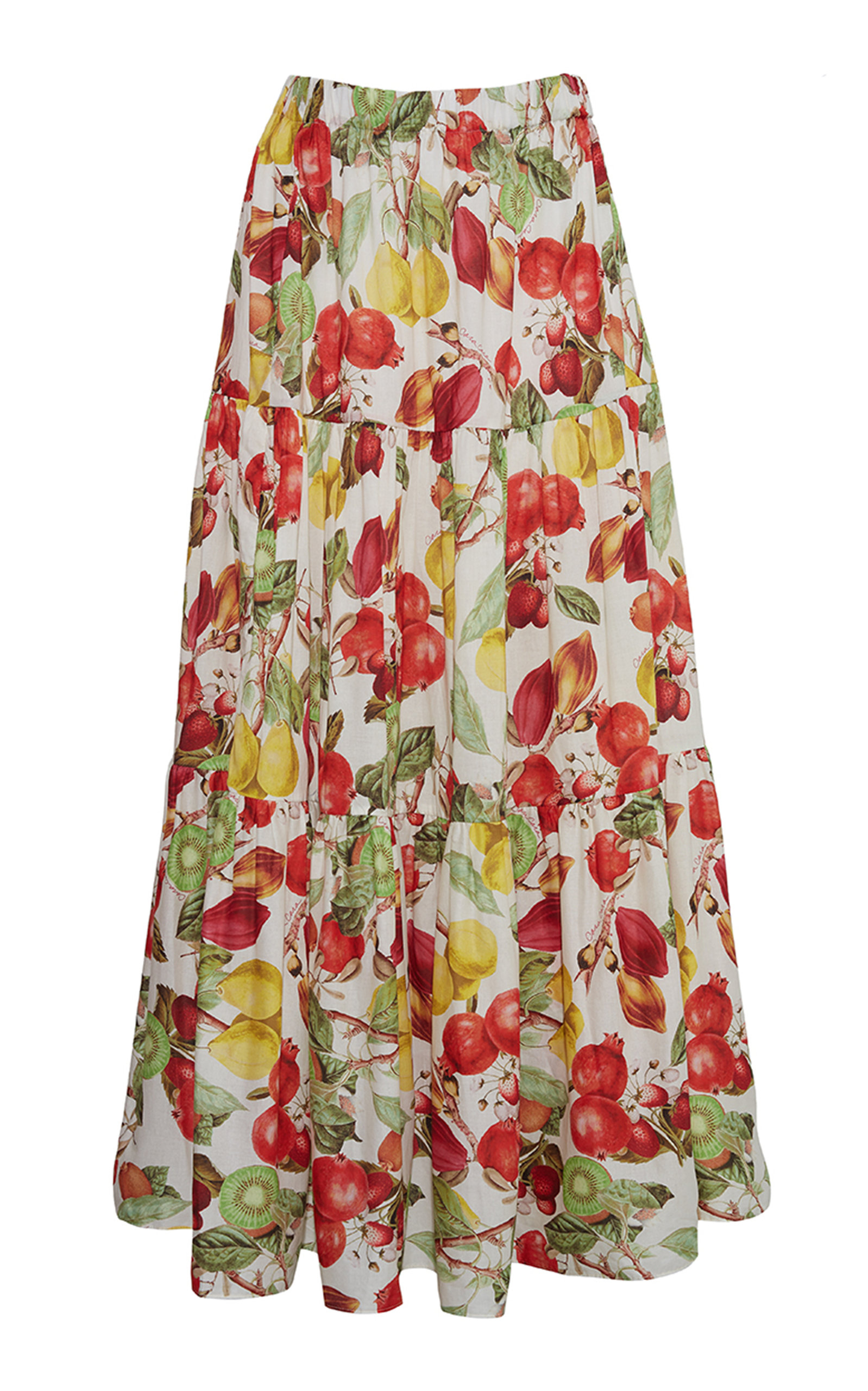 Women's Melanie Floral Voile Cotton Skirt