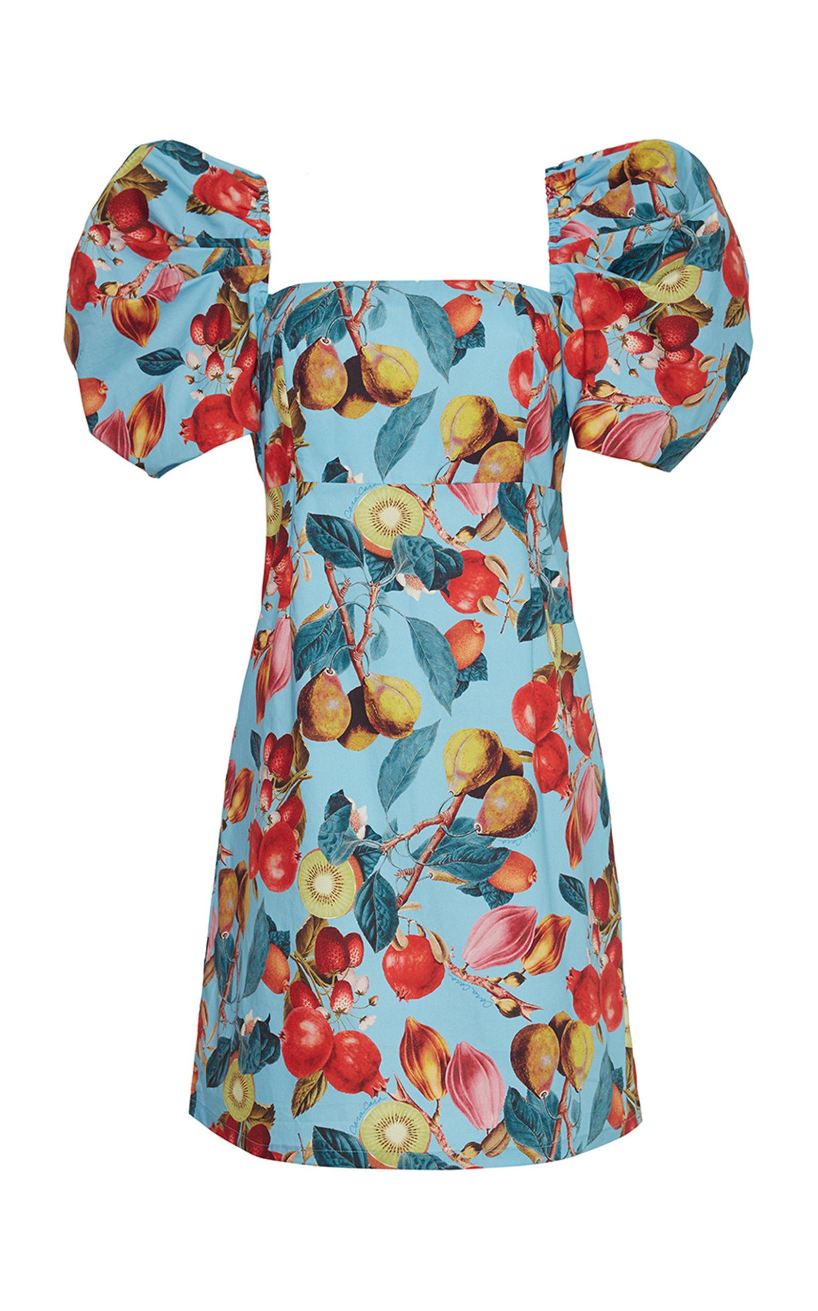 Women's Kelly Smocked Poplin Mini Dress