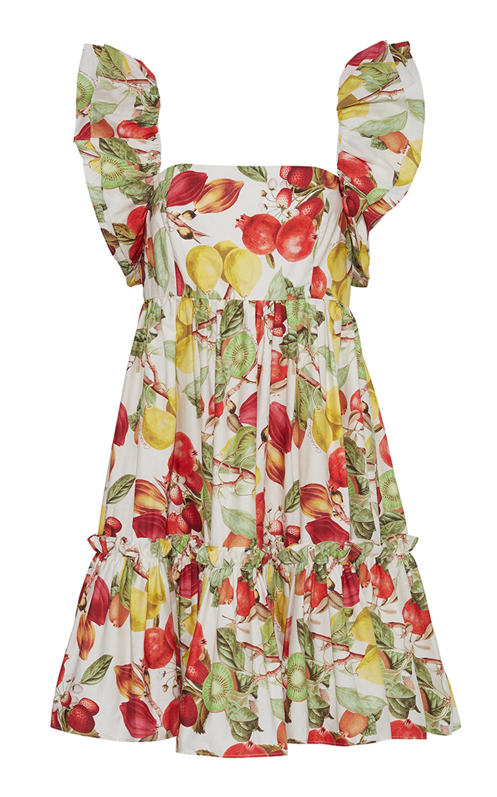 Women's Lexa Floral Cotton Mini Dress