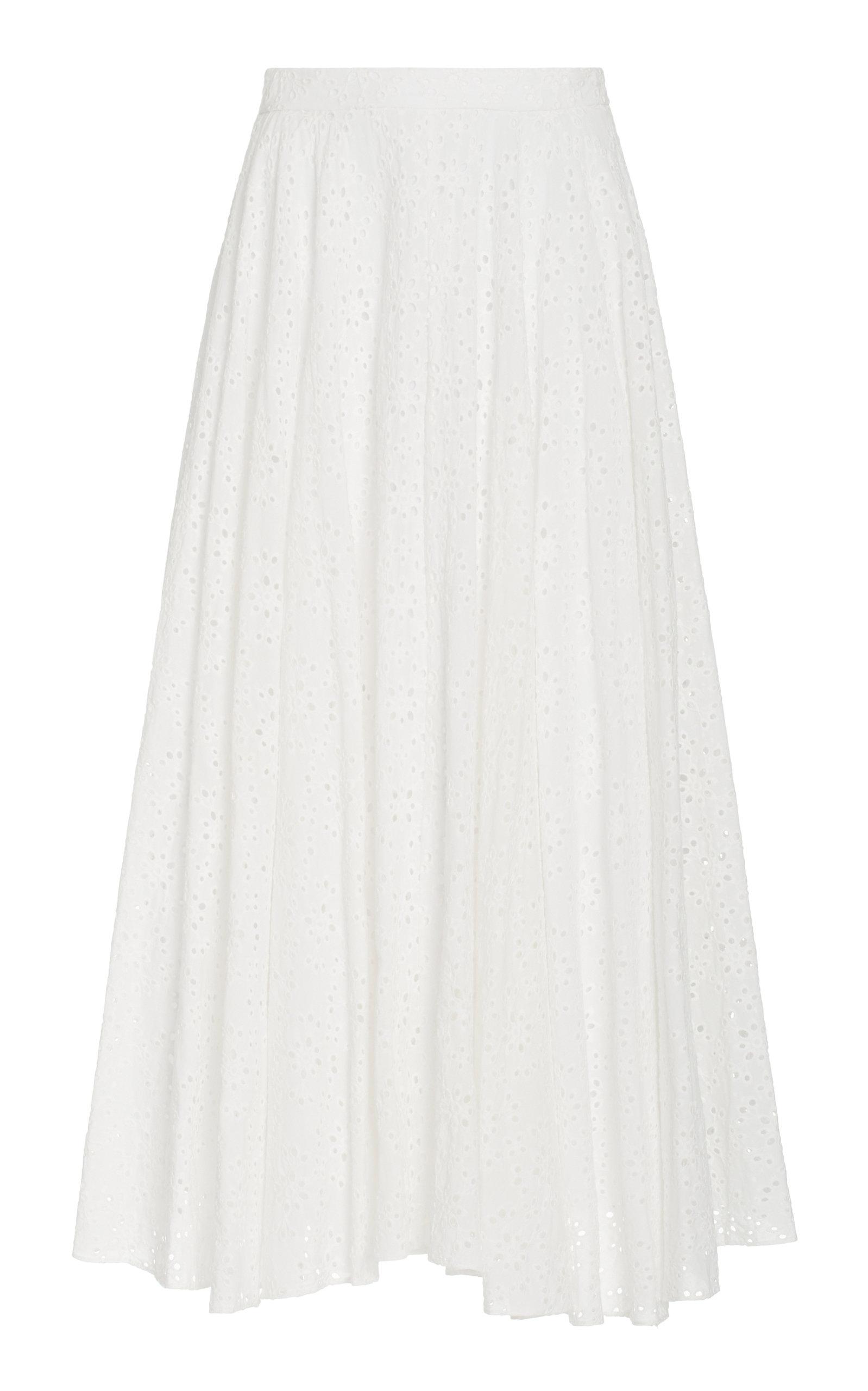 Women's Aquinnah Broderie Anglaise Cotton Maxi Skirt