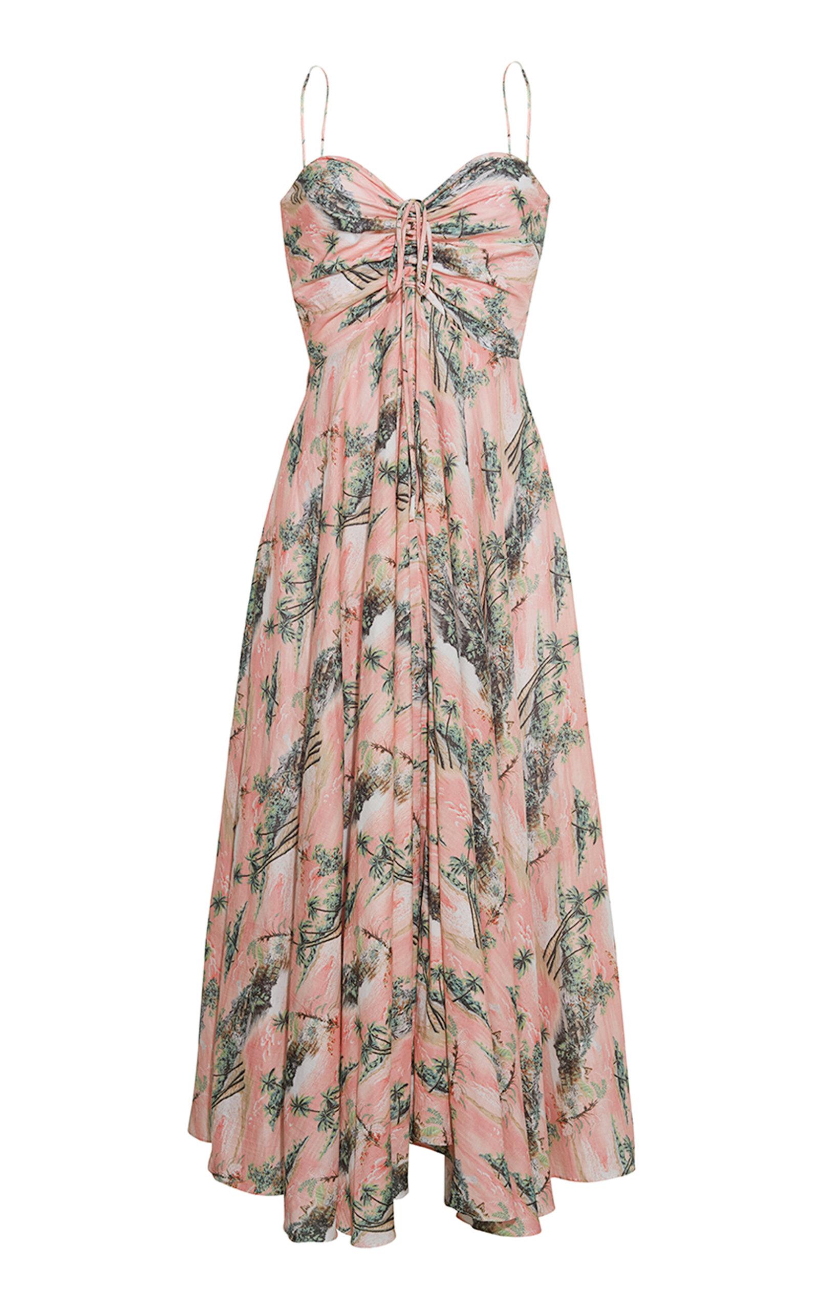 Women's Maidstone Printed Cotton Voile Midi Dress