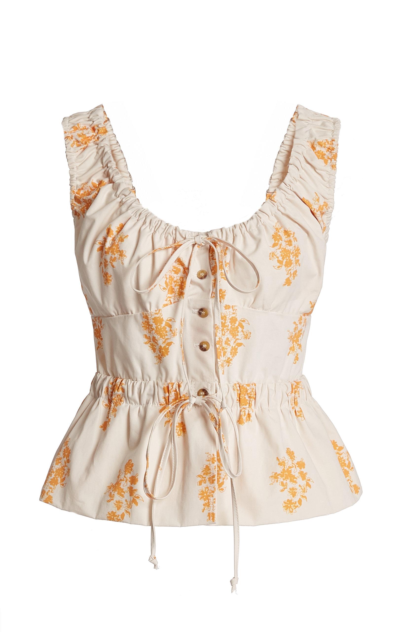 Women's Ilaria Printed Cotton Top