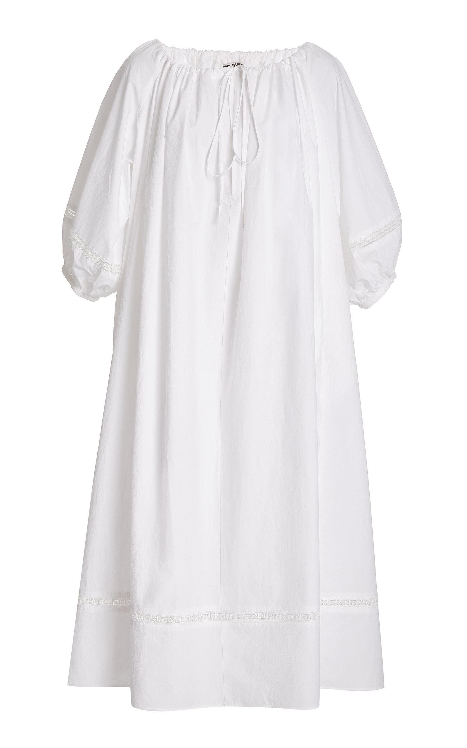 Women's Aria Poplin Maxi Dress