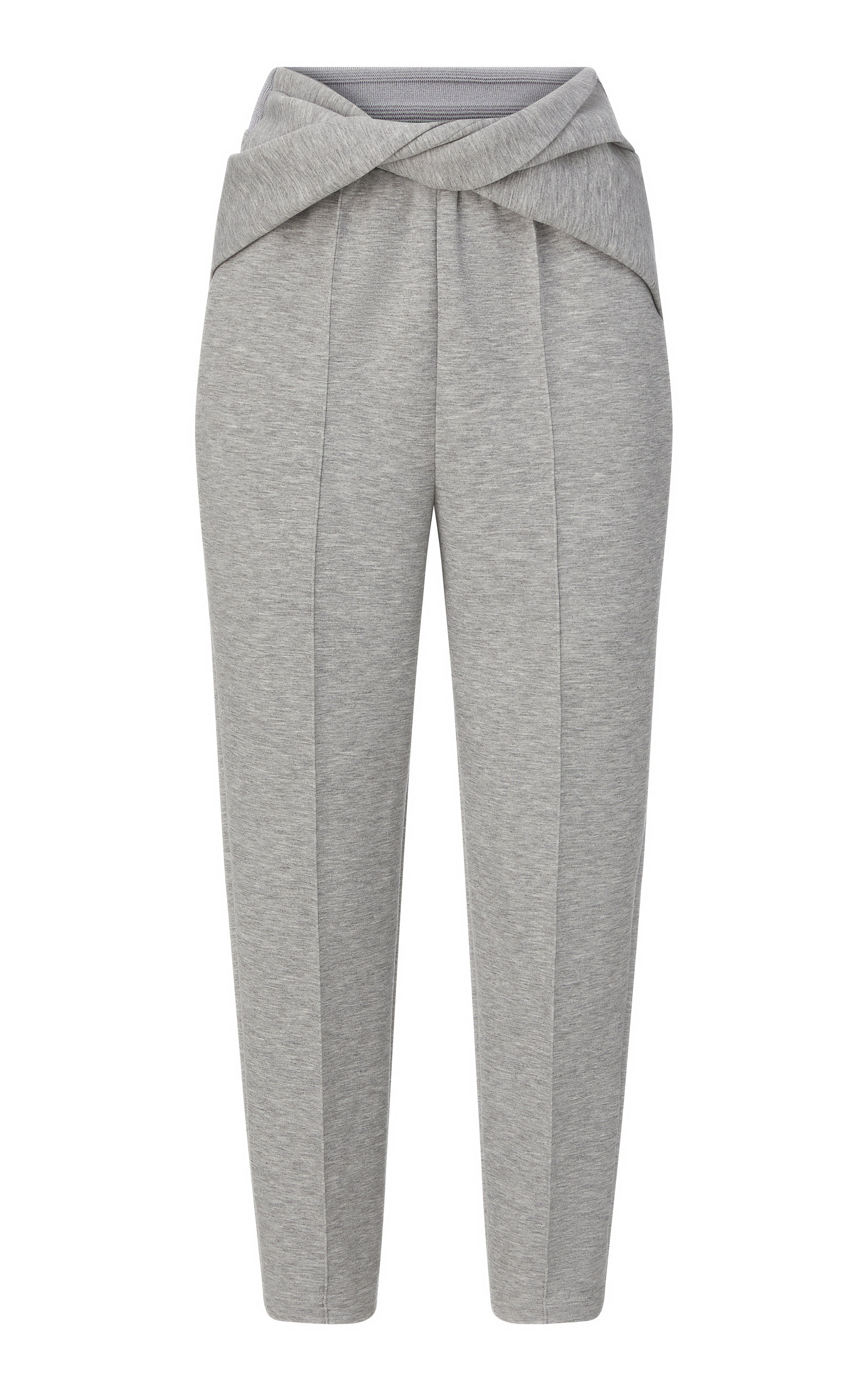 Women's Twisted Jersey Tapered Pants