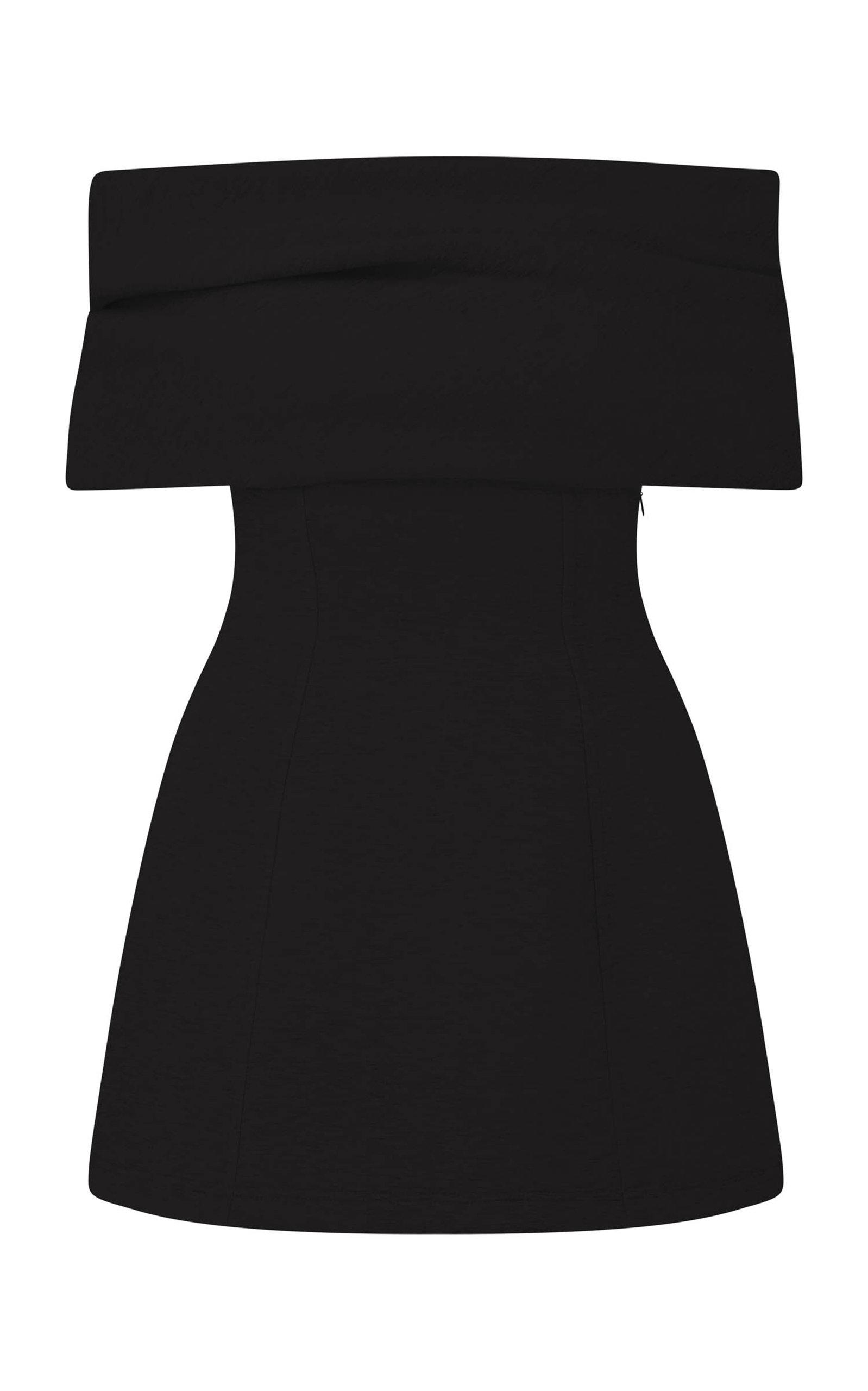 Women's Off-The-Shoulder Jersey Mini Dress